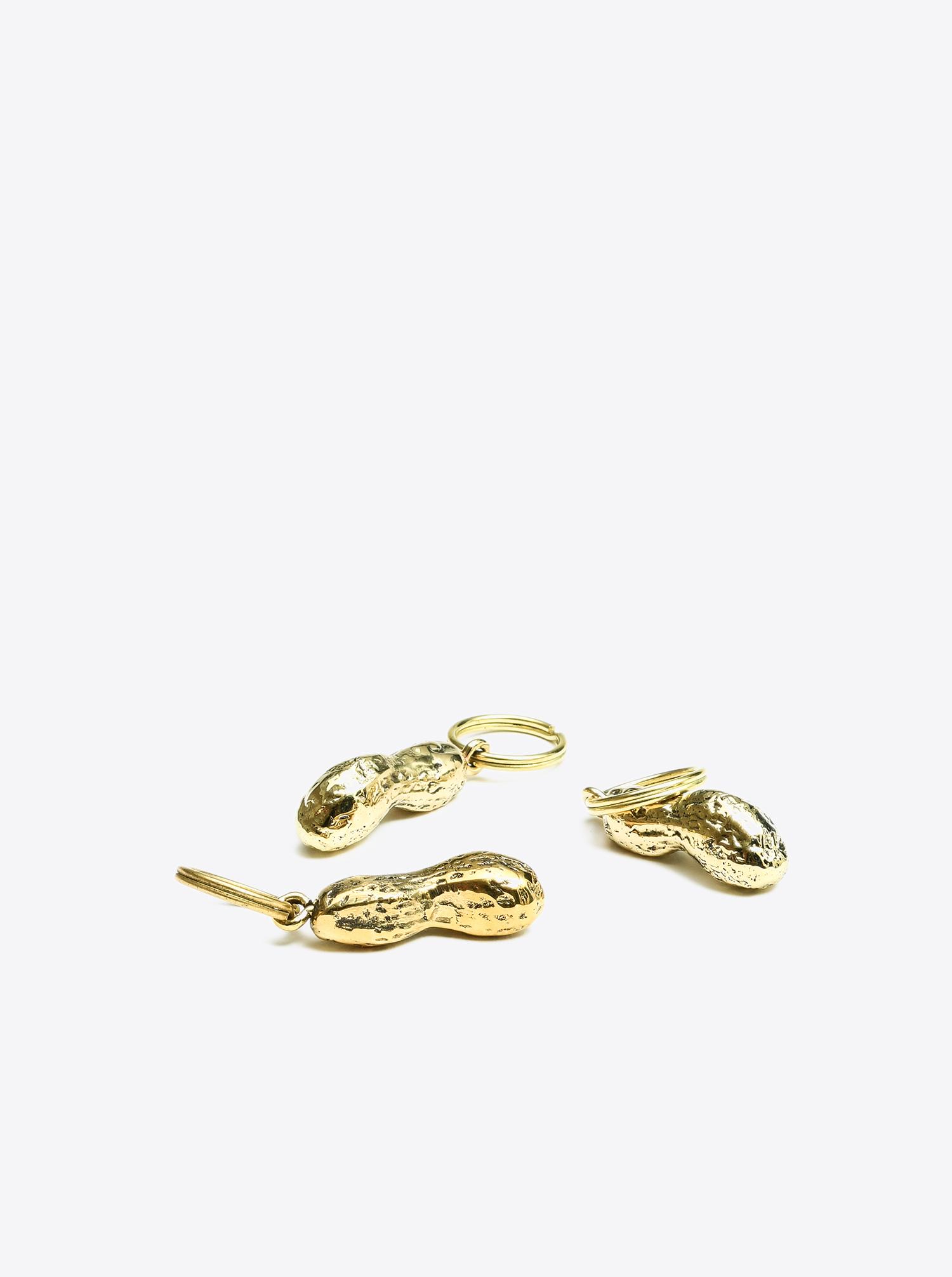 Key Chain Sea Horse Brass polished