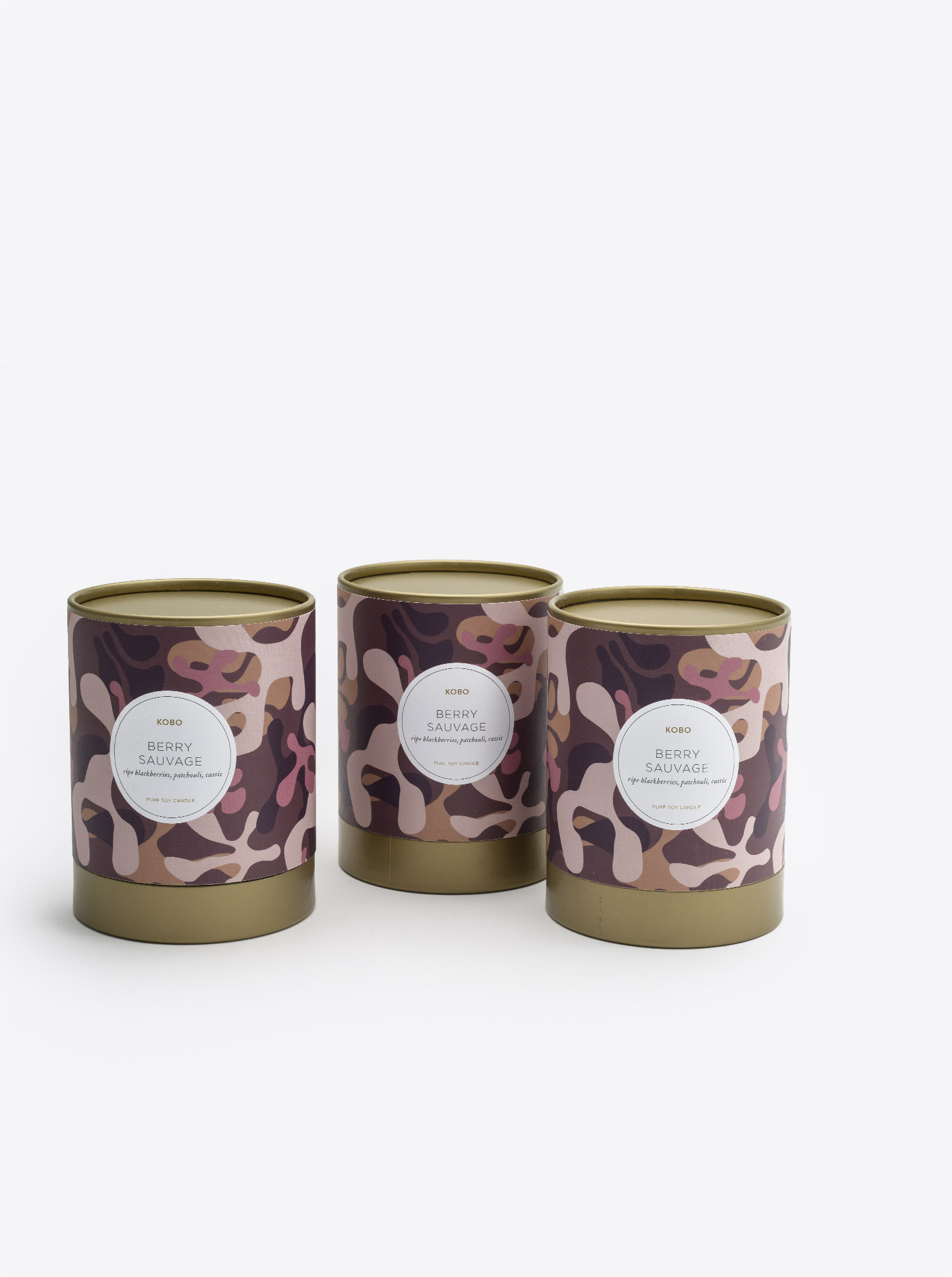 "Candle ""Berry Sauvage"""