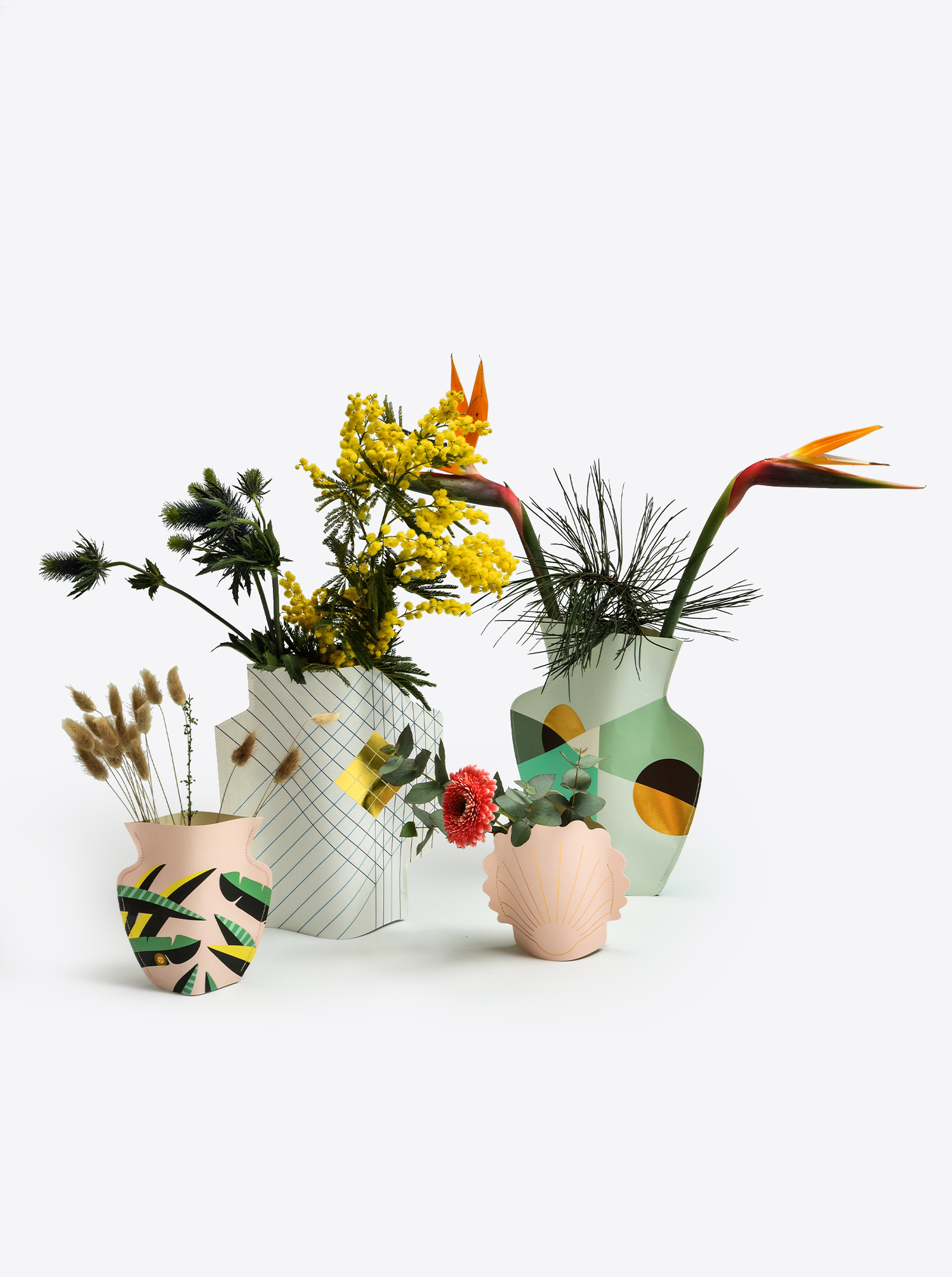 """Papier Vase """"Le Club"""""""