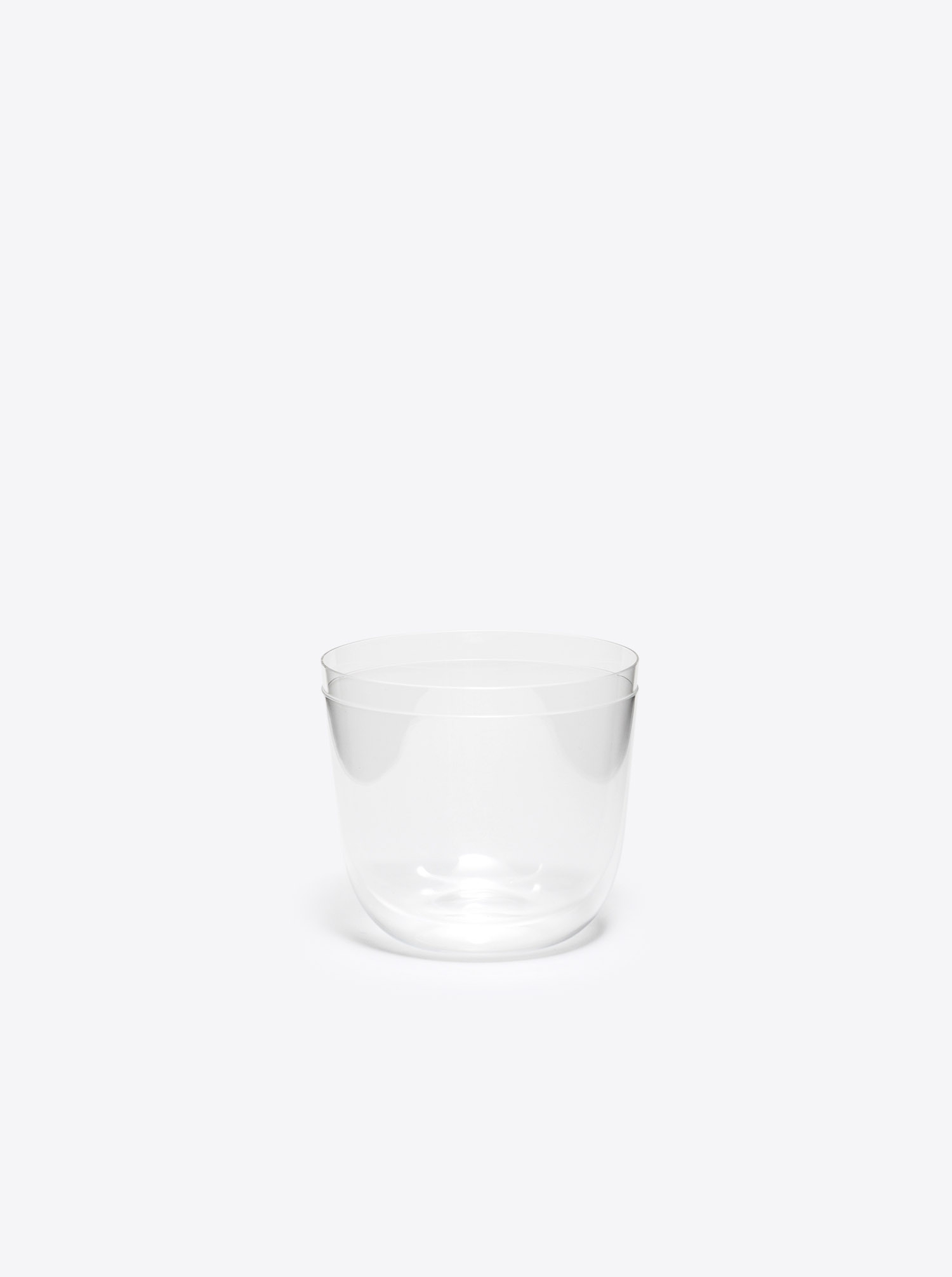 "Water Glass ""Alpha"" clear"