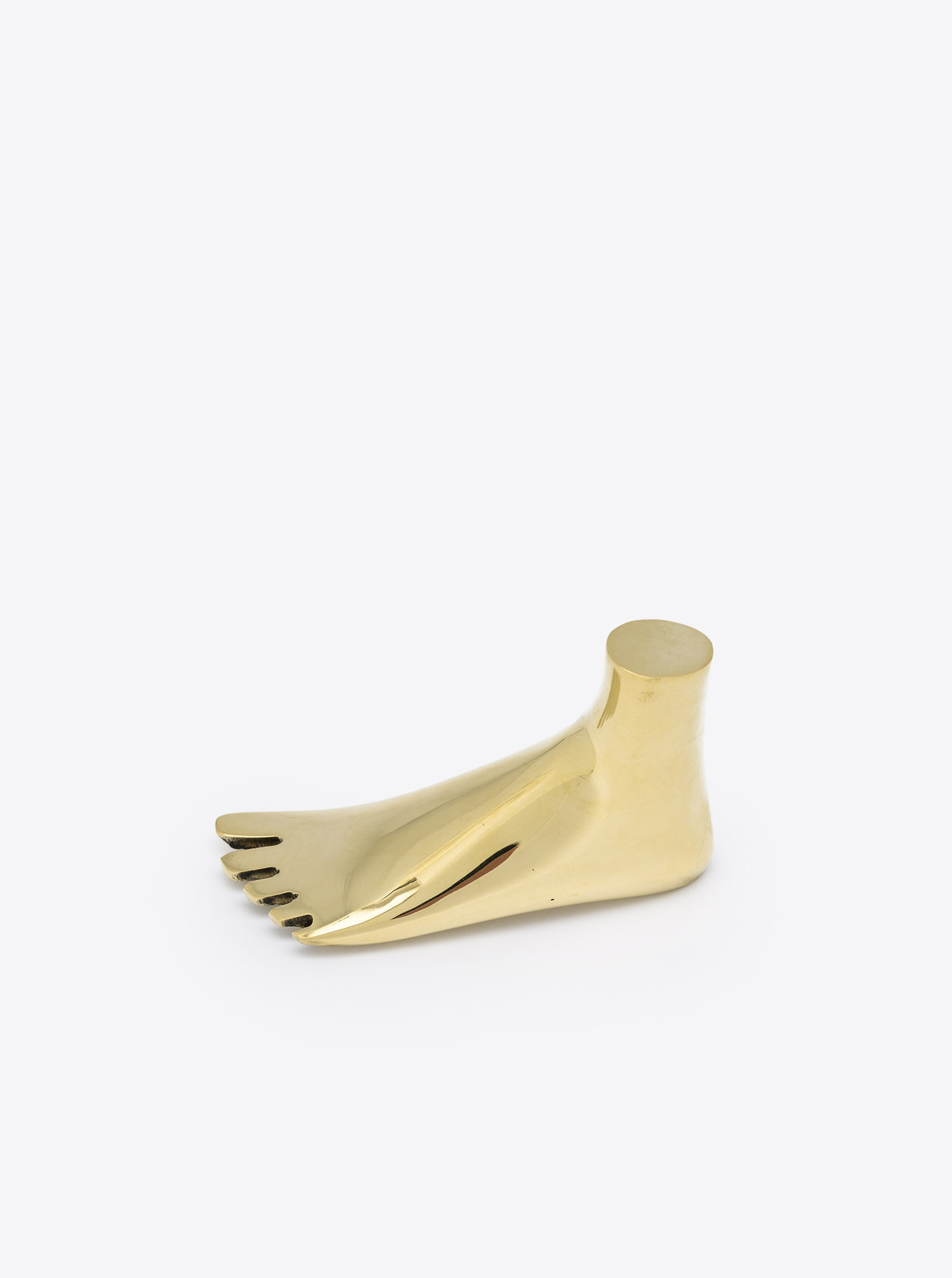 Paperweight Foot Brass polished