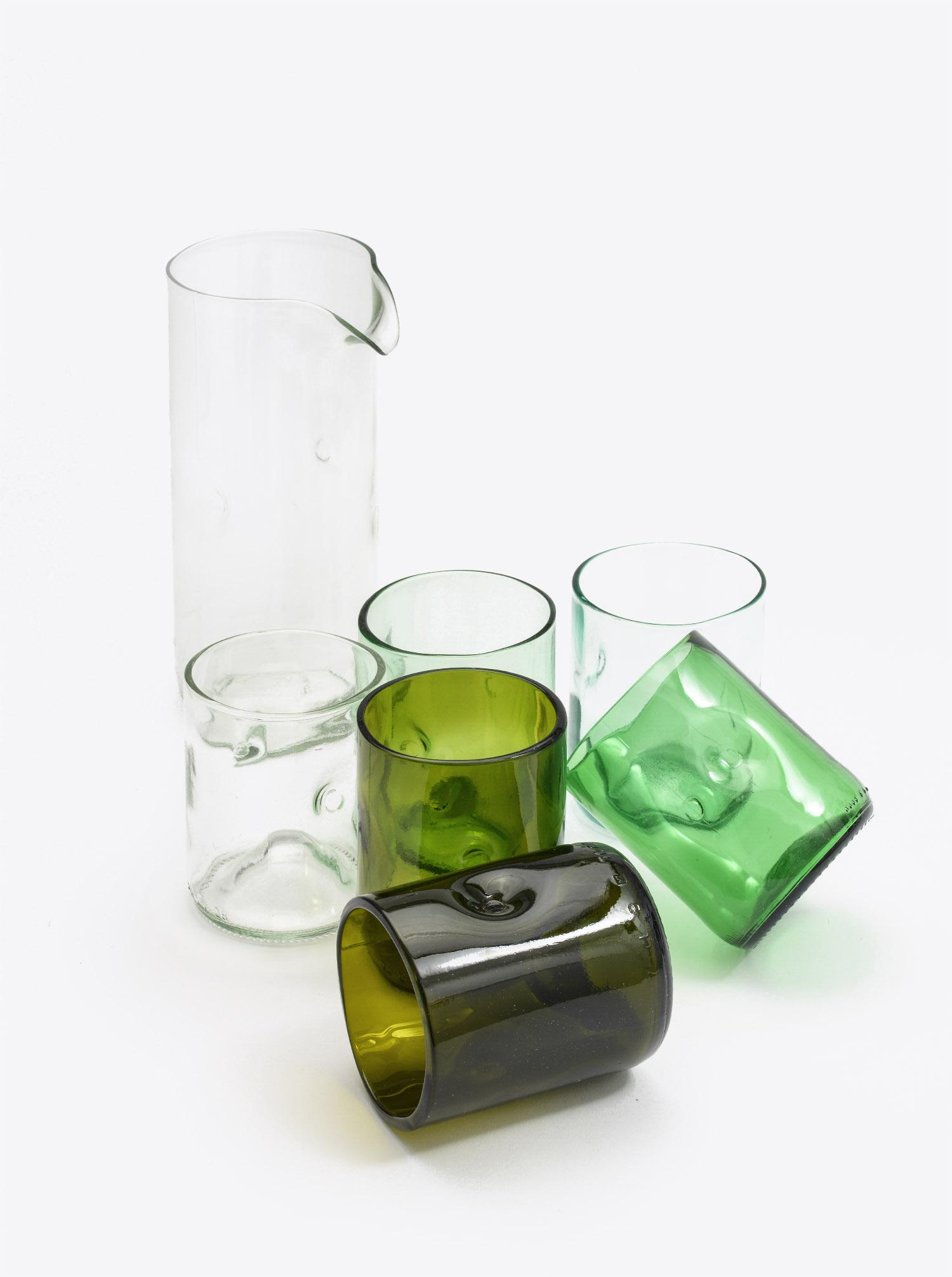 Karaffe mit Glas Set 6 Stück mit Box