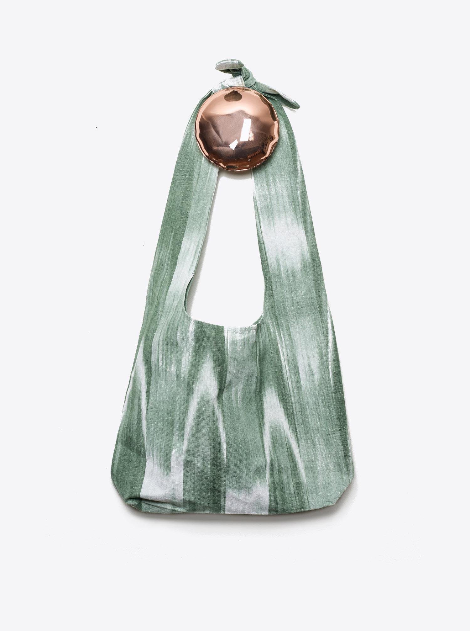 Bag Furoshiki Ikat olive
