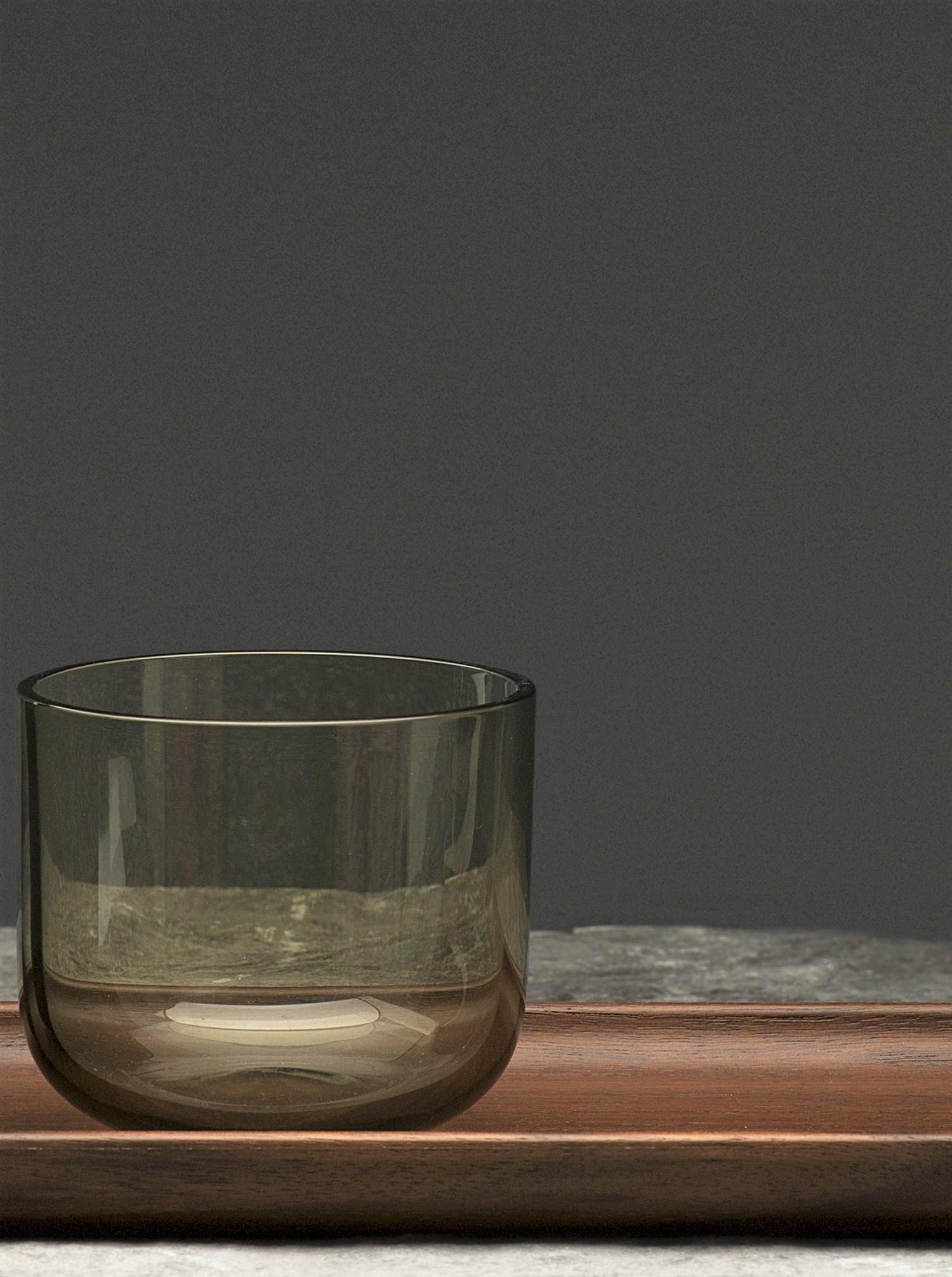 Water Wine Cup Set 6 pcs smoke