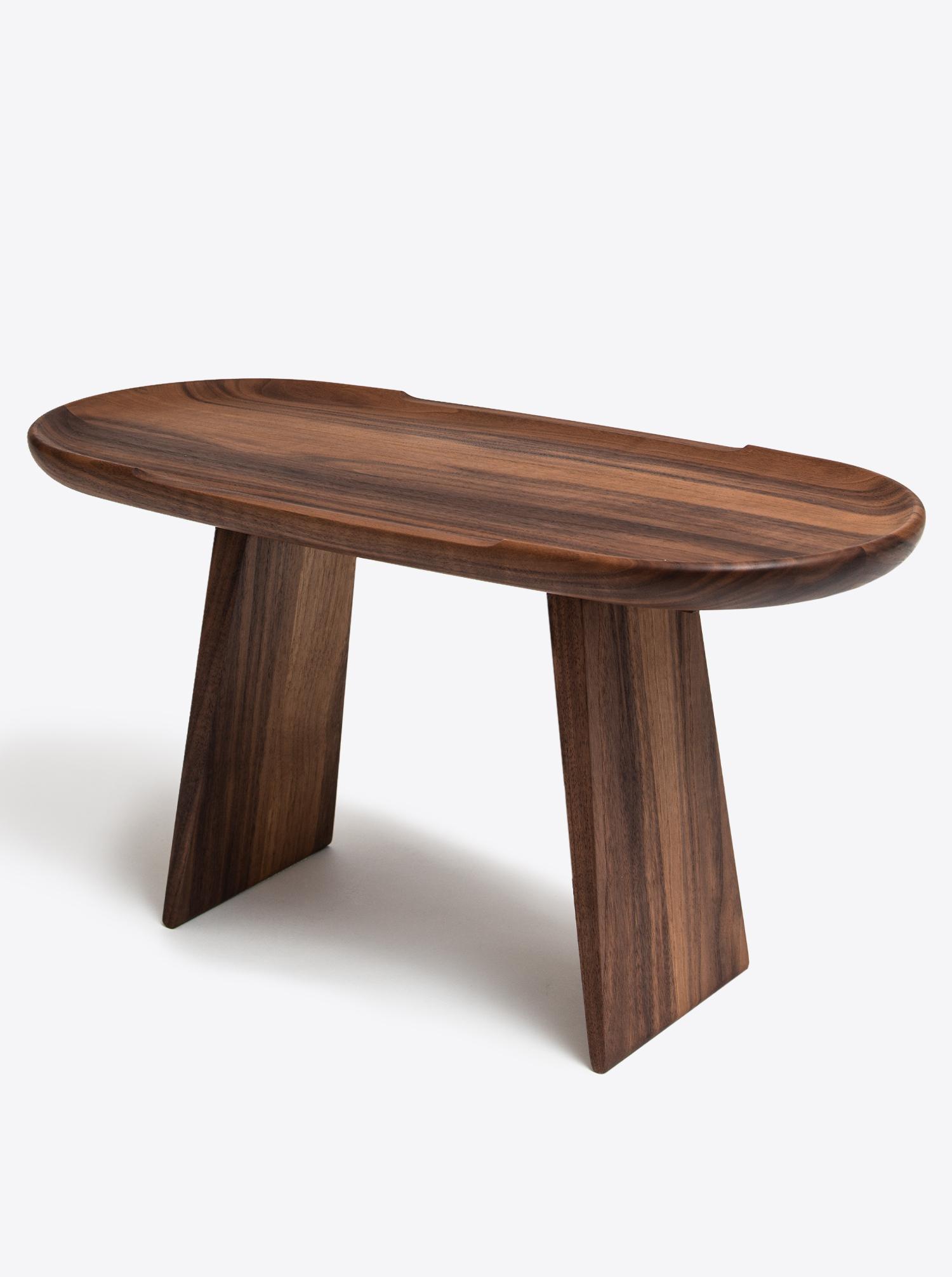 Beistelltisch Walnuss Holz