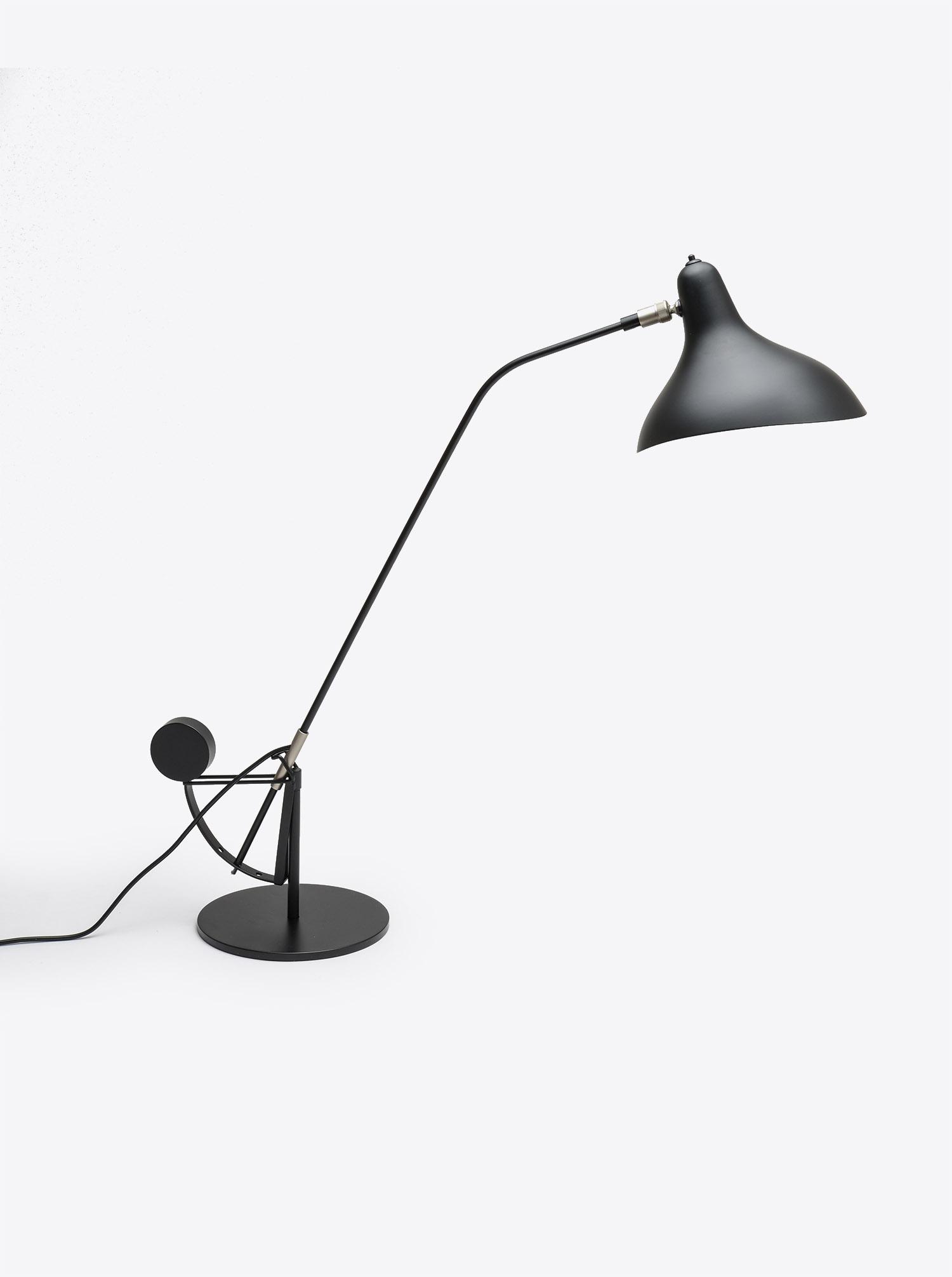 """Tischleuchte """"Mantis"""" schwarz Design Bernard Schottlander"""