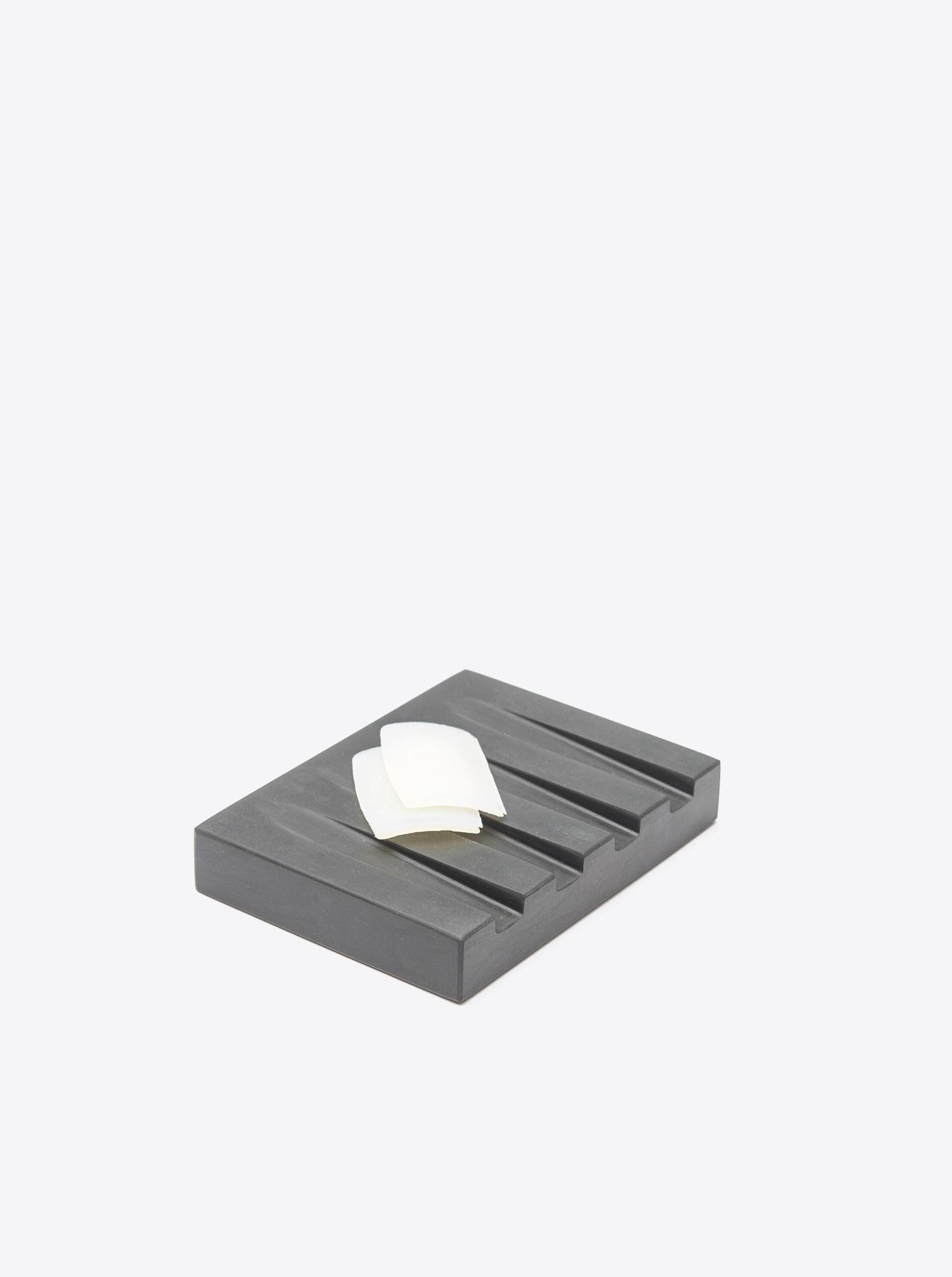 Seifenschale Marmor schwarz