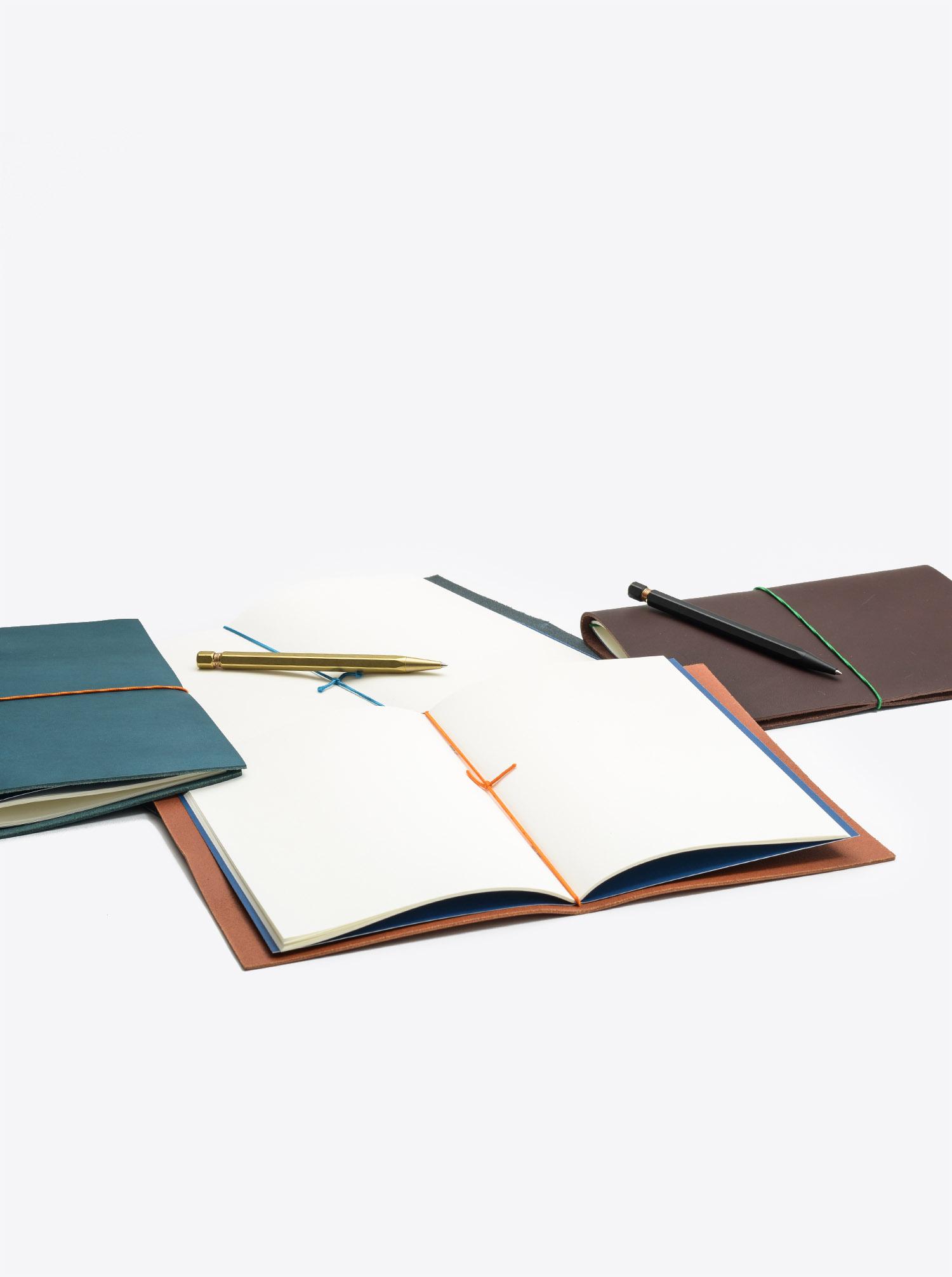 Notizbuch Grand Voyager XL Kernleder Cognac