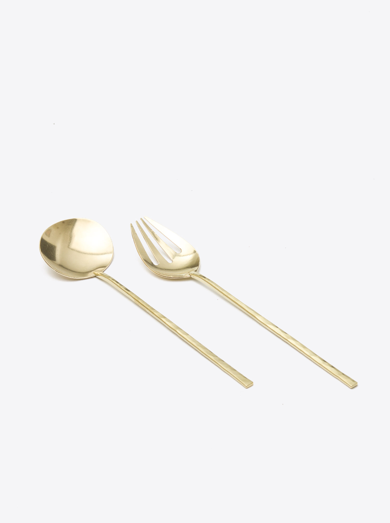 Presenting Cutlery Brass