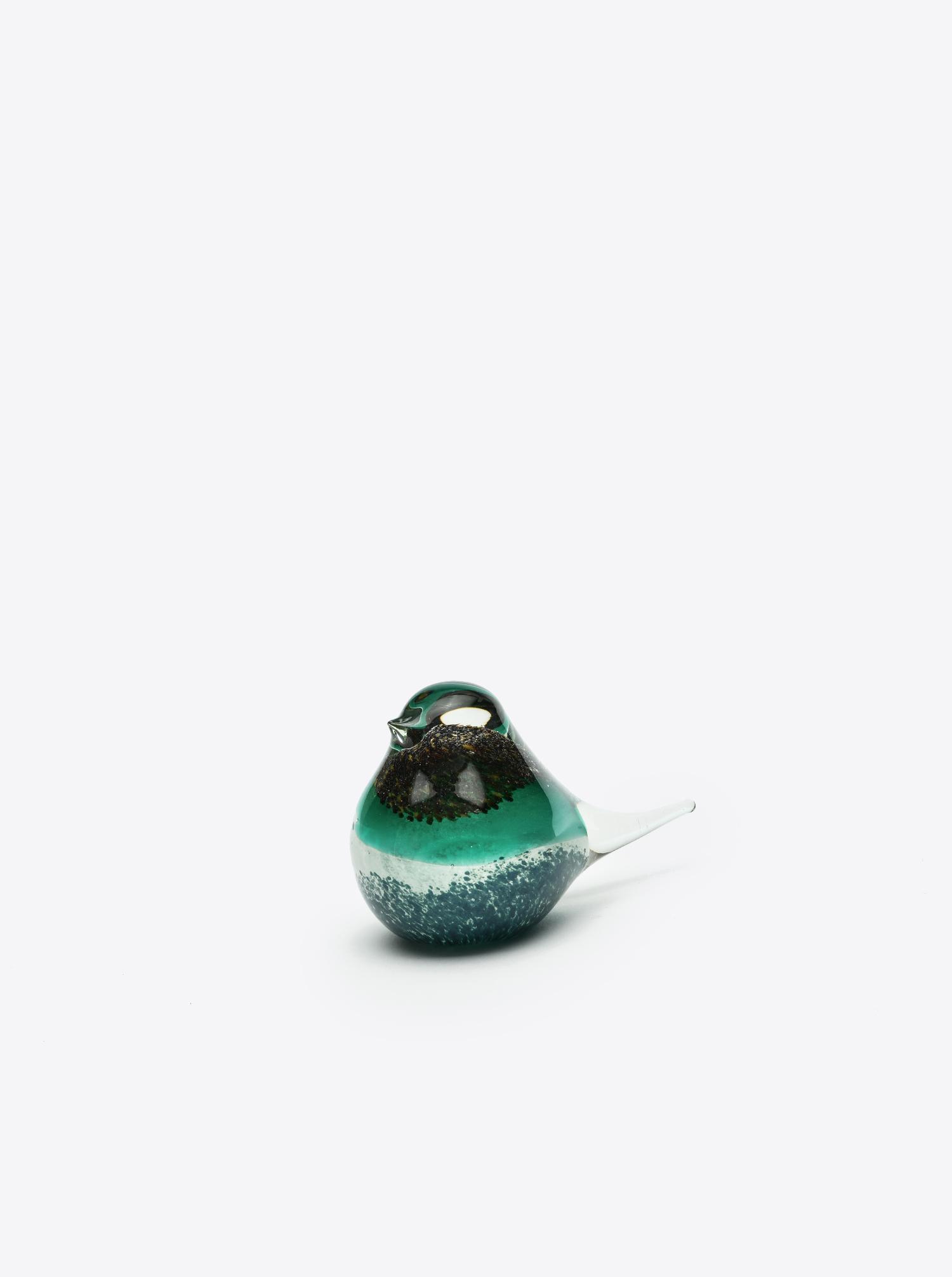 "Glass Bird ""Atlas"" black green"