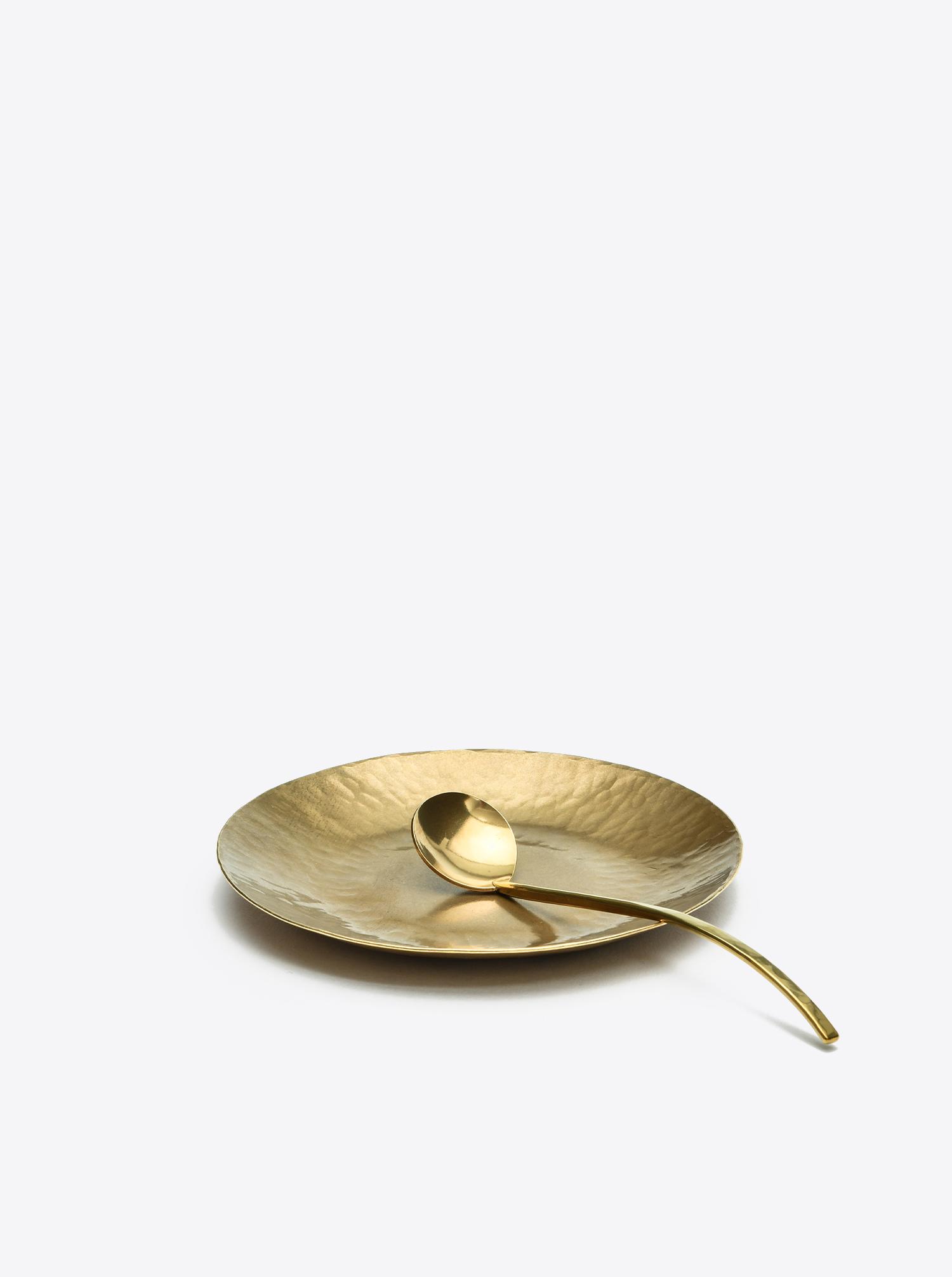 Plate Brass D12