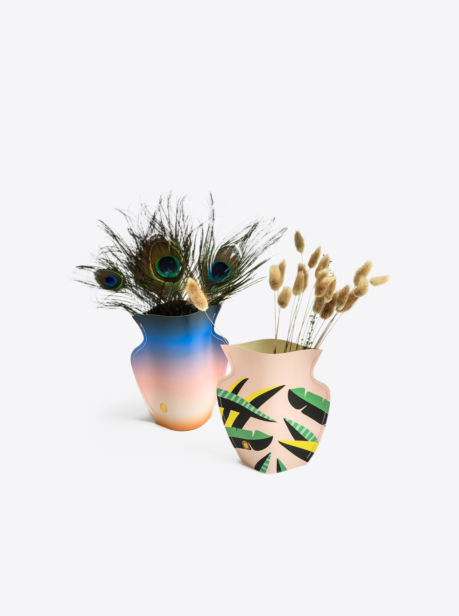 """Papier Vase """"Kosmos"""""""