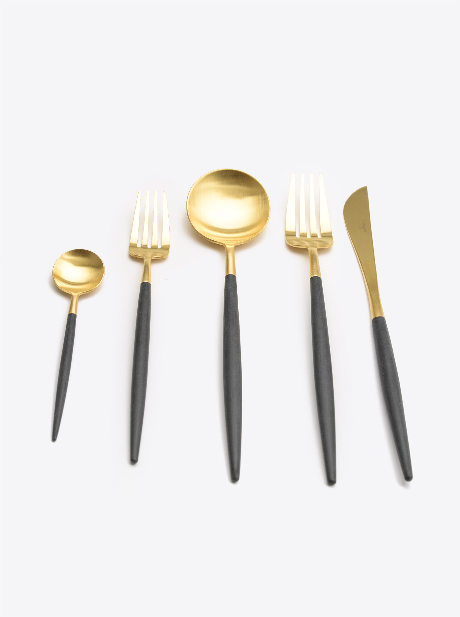 Cutlery Set Goa gold black