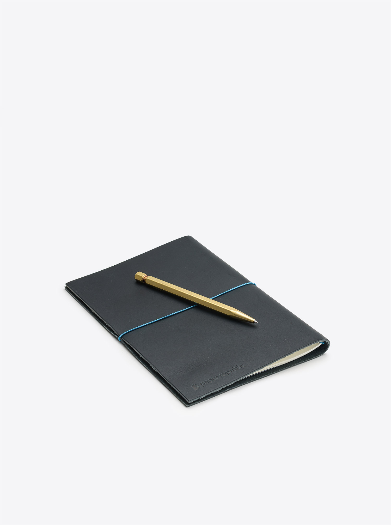 Notebook Grand Voyager XL Cowhide Leather Blue