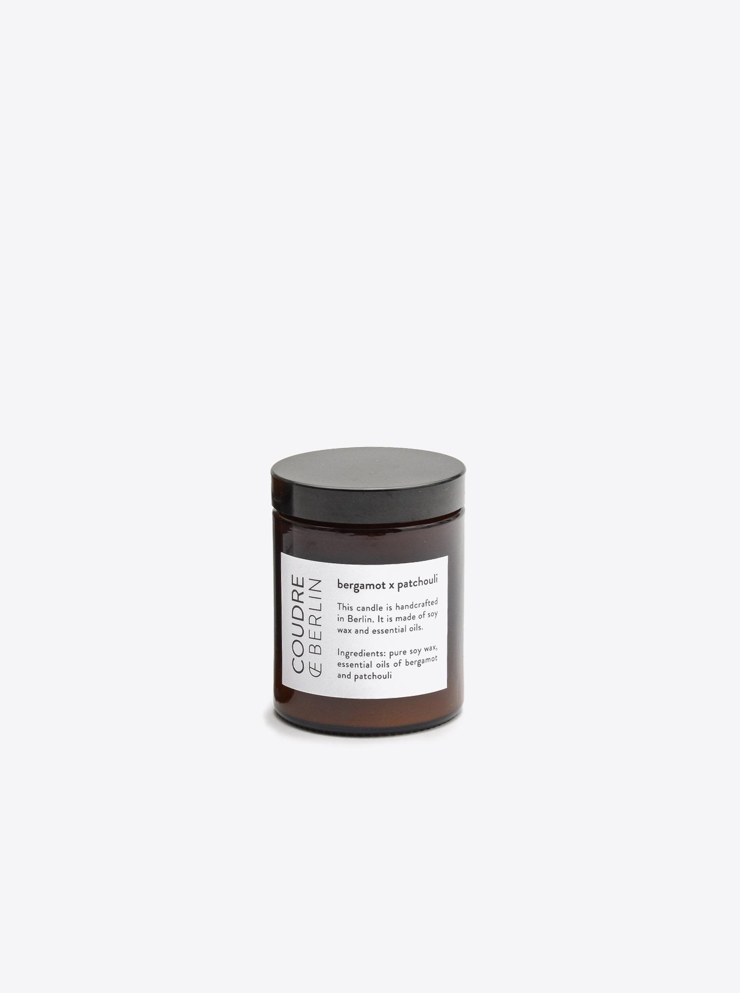 Duftkerze Bergamotte & Patchouli