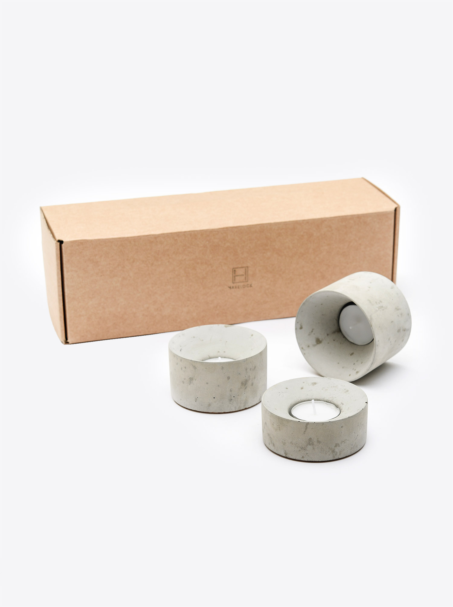 Tea Light Holders Concrete