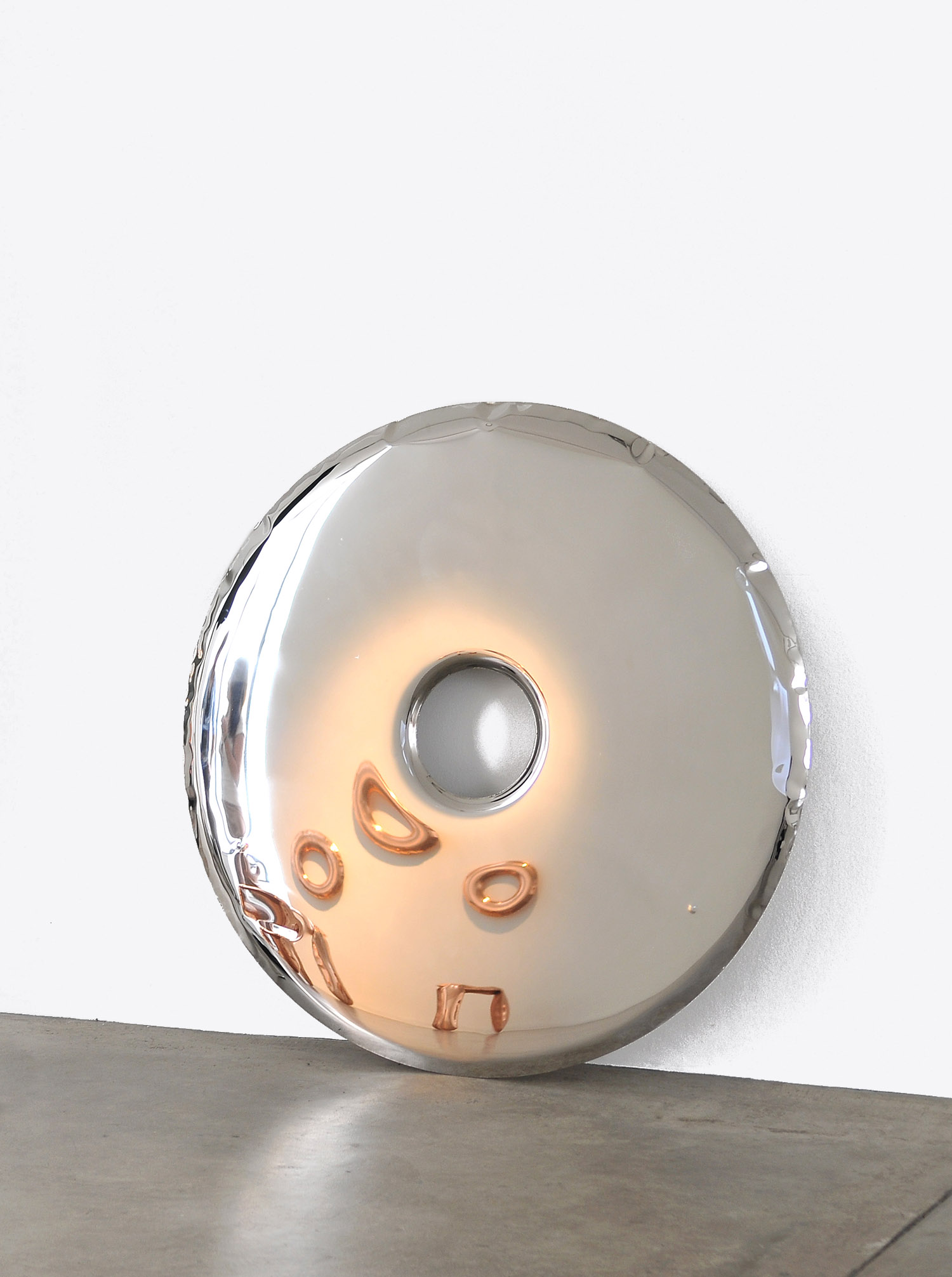 Mirror Object RONDO Inox D75cm