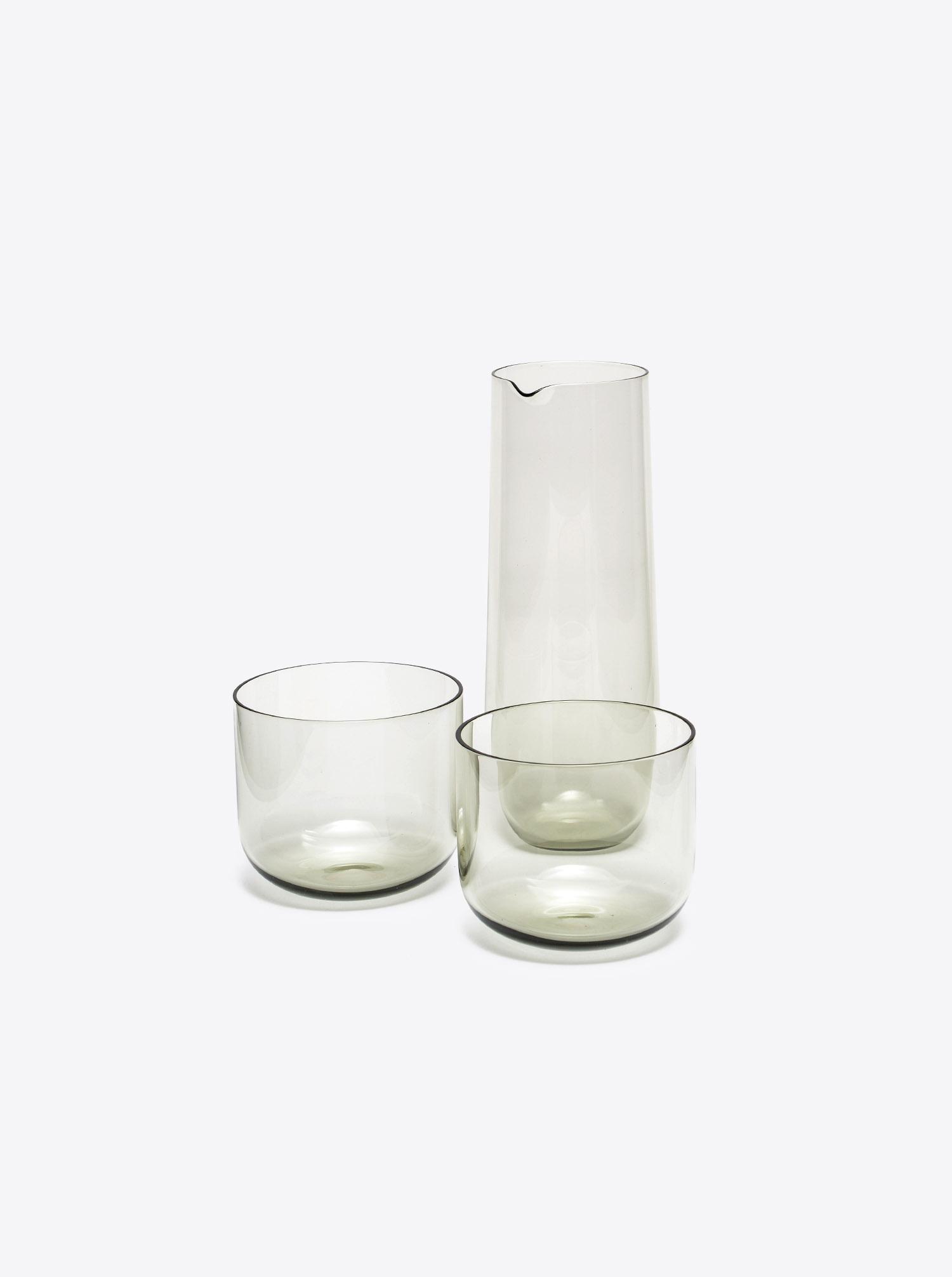 Carafe Crystal Glass smoke 50cl