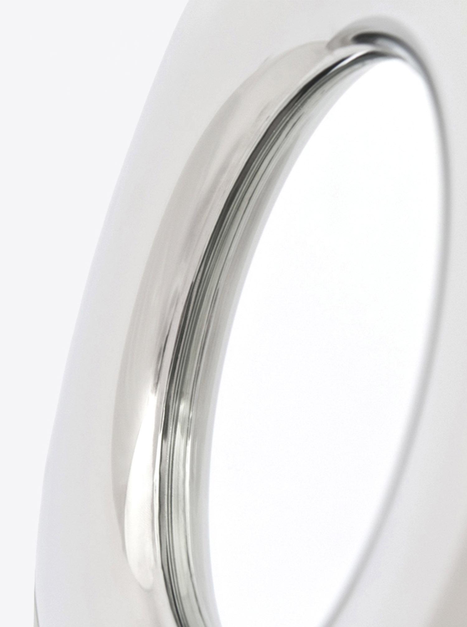 Spiegel Rondel Inox D36cm