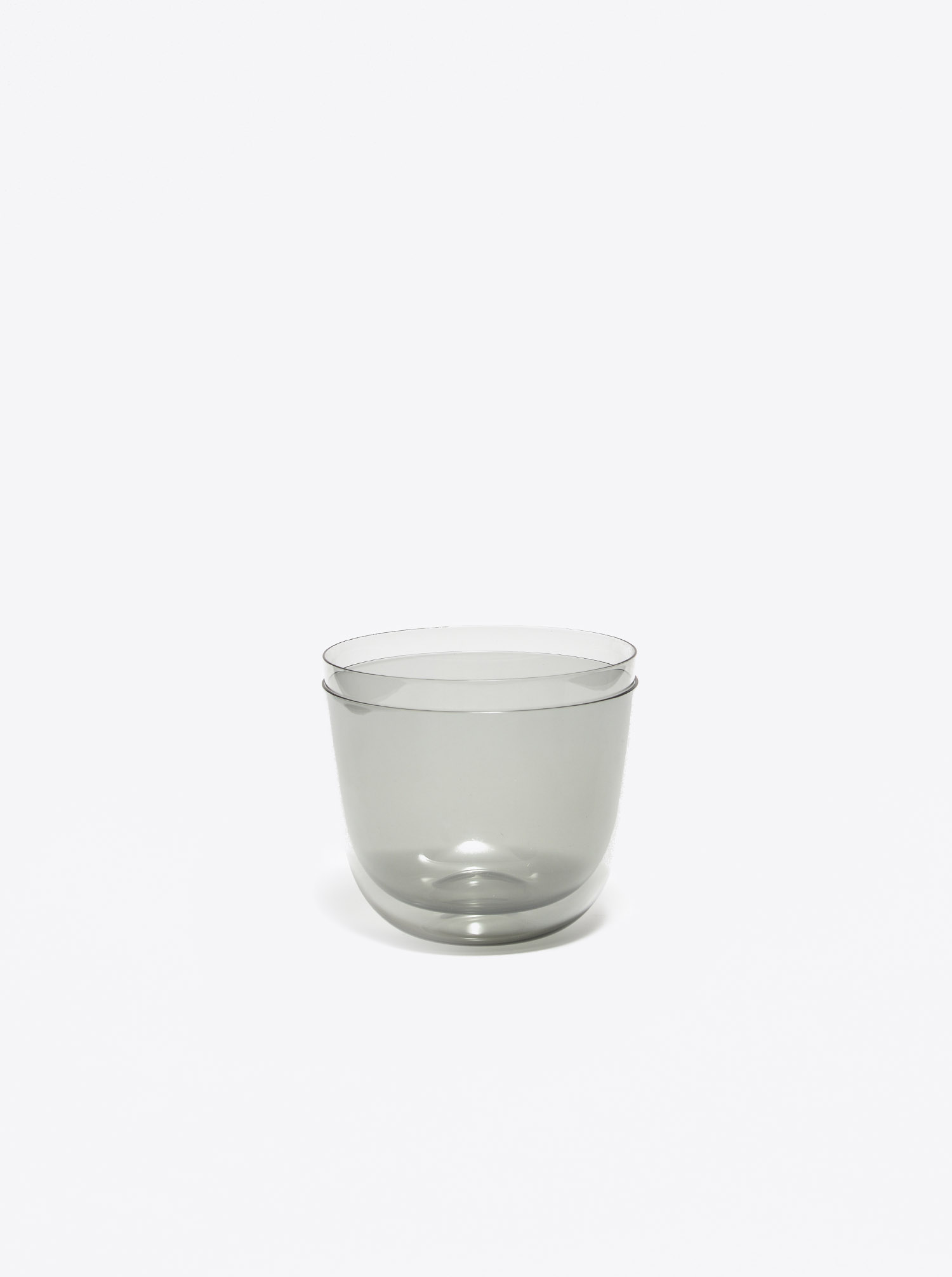 "Water Glass ""Alpha"" grey"
