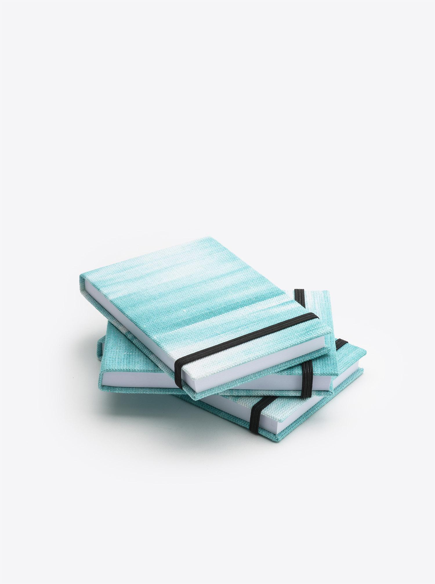 Notepad Ikat turquoise