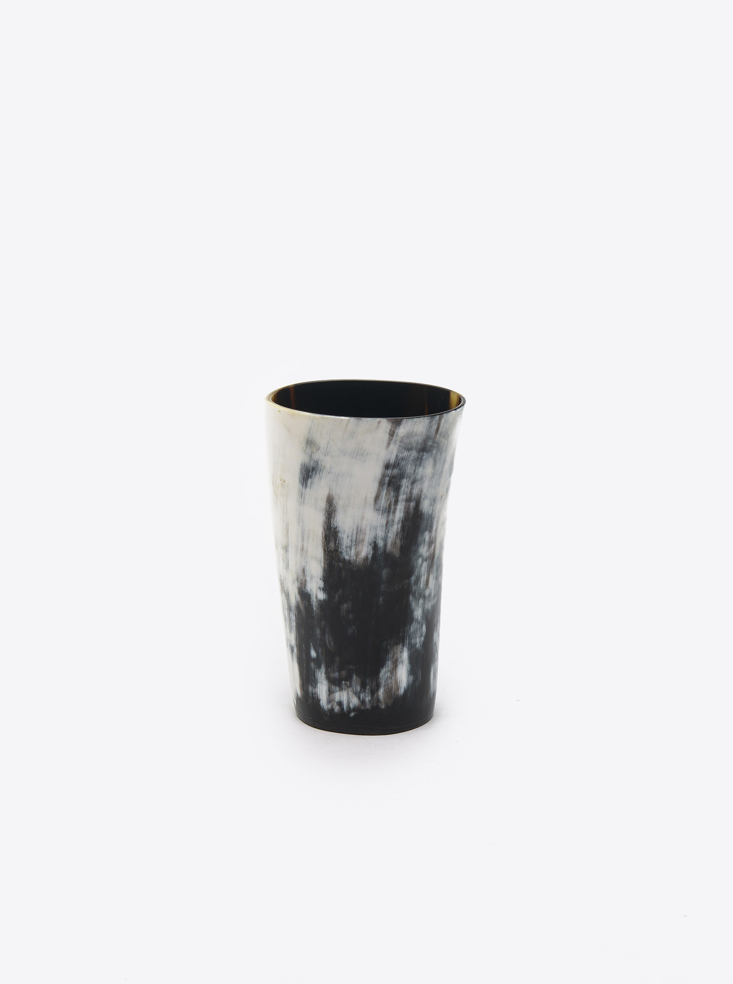 Cup made of Horn dark L
