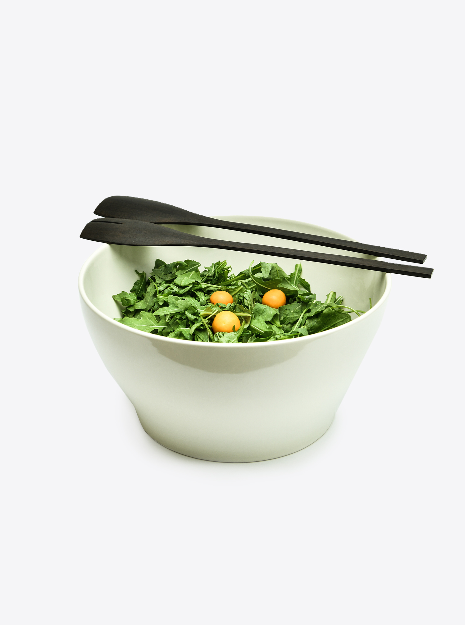 Bowl Stoneware off-white L
