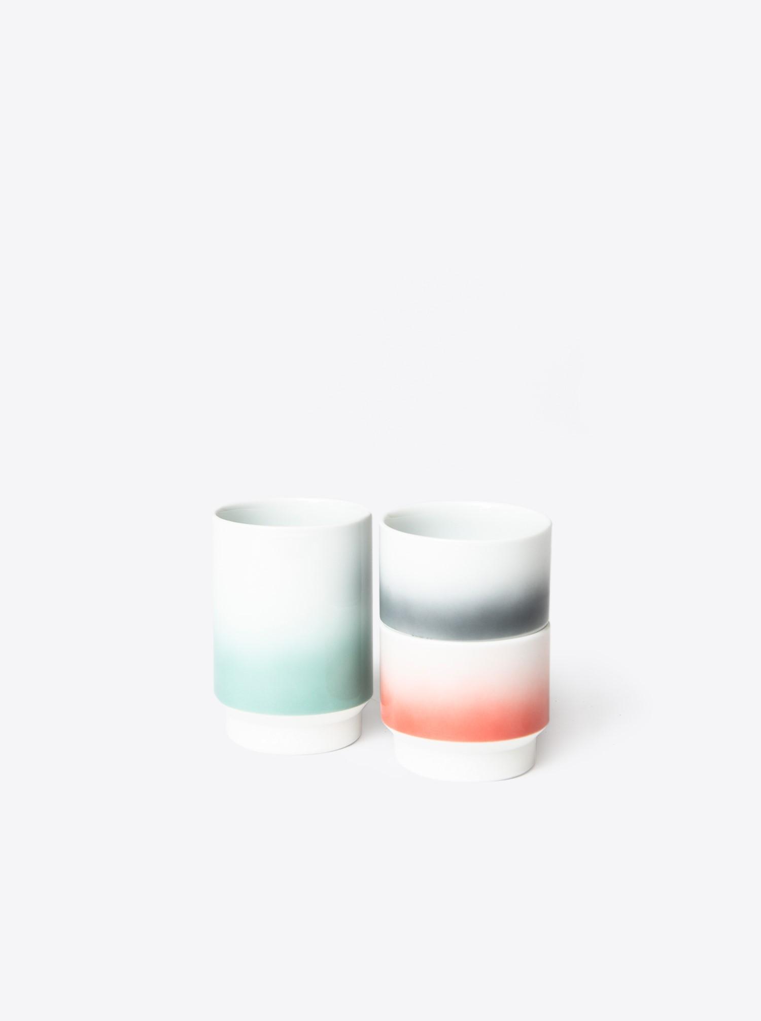 Teacup Hasami M grey