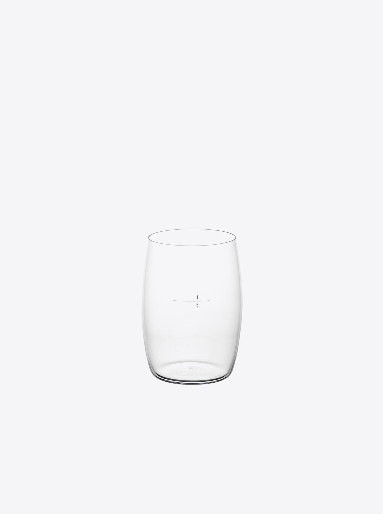 "Glas ""Wiener Achtel"" klar"