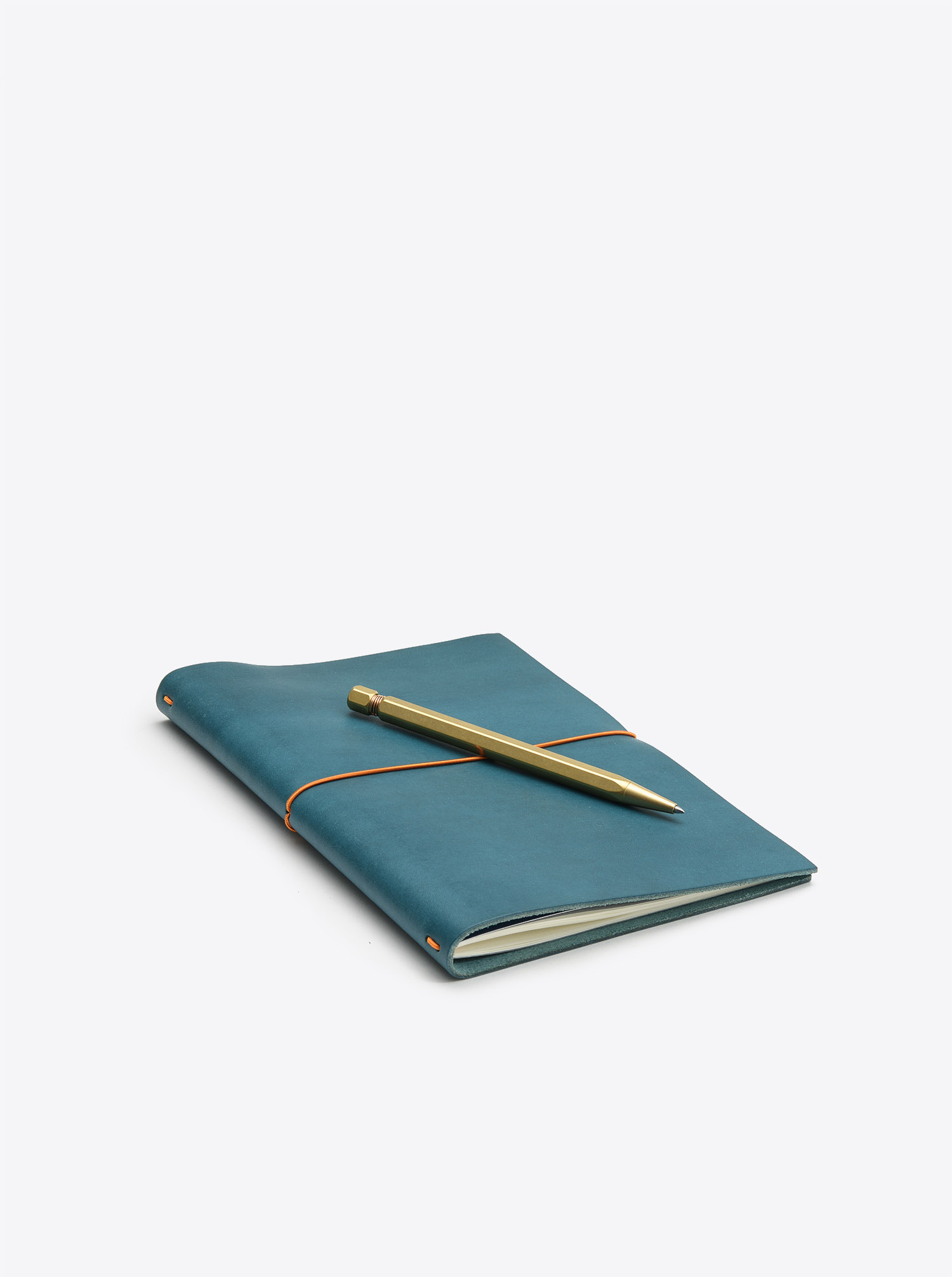 Notebook Grand Voyager XL Cowhide Leather Petrol