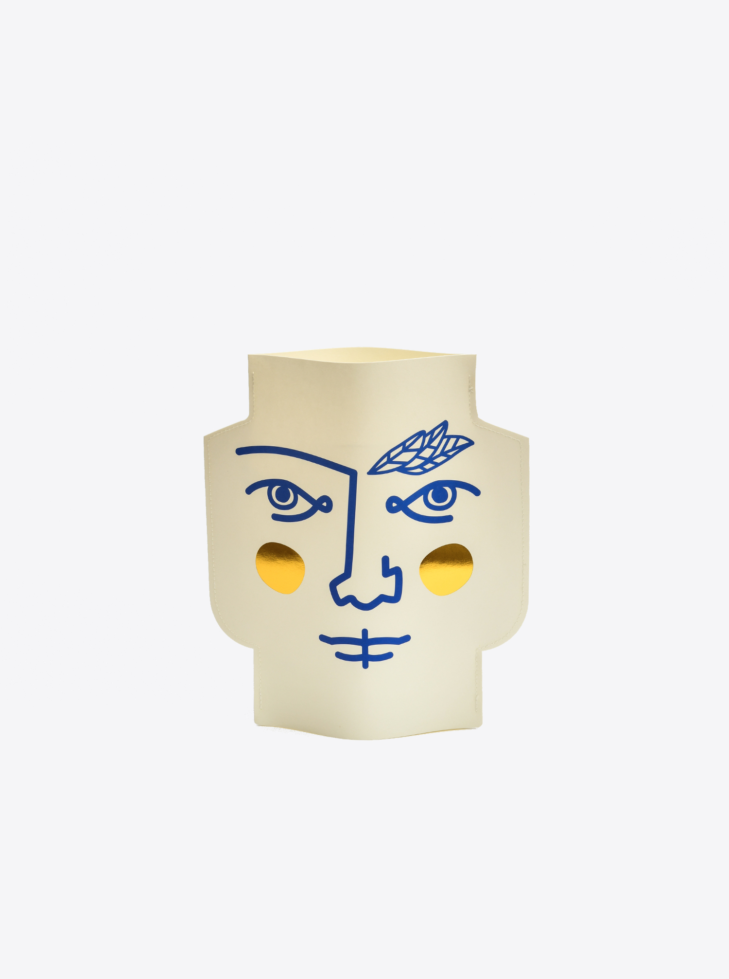 Paper Vase Janus - double faced
