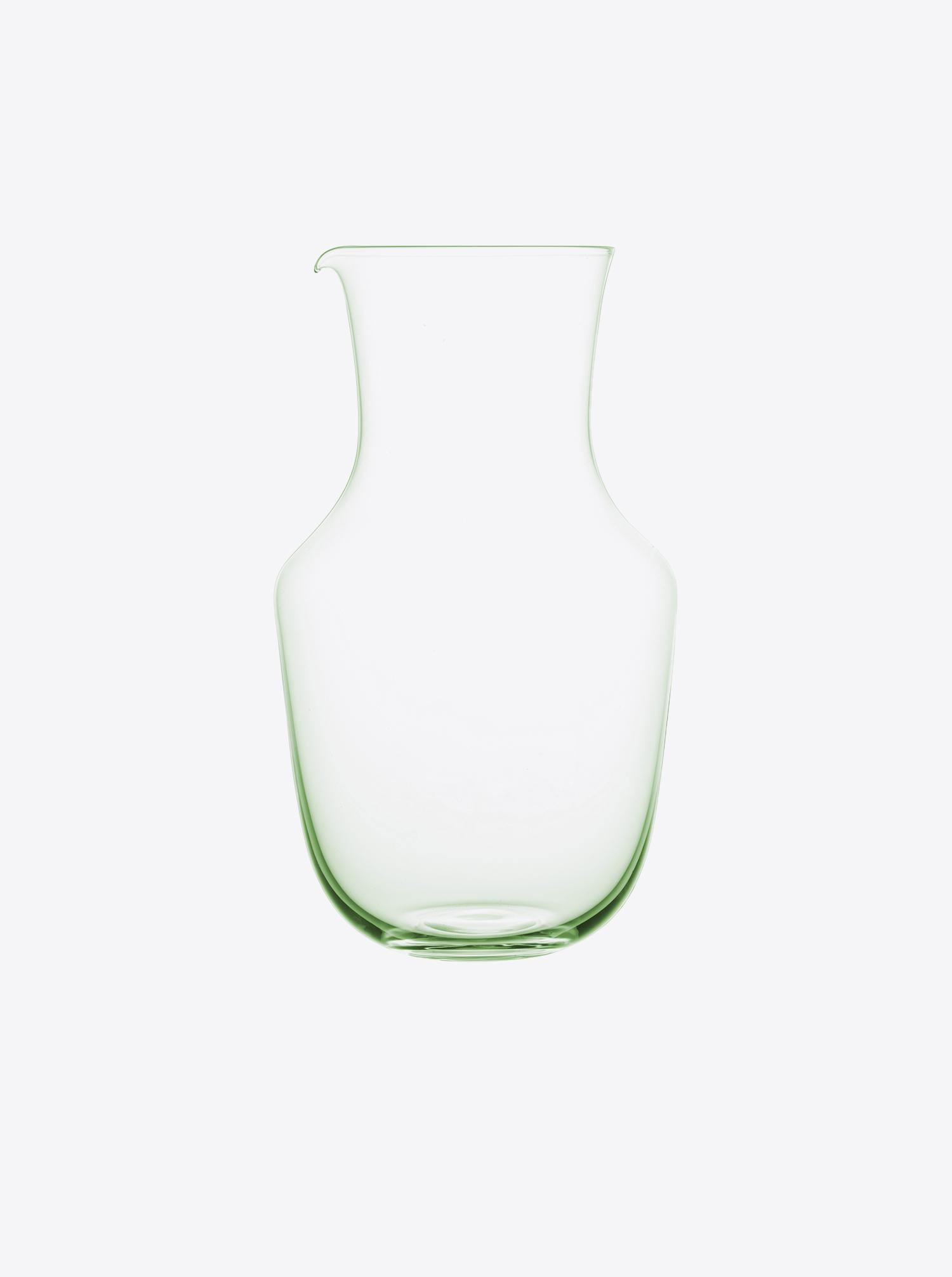 "Karaffe ""Alpha"" Glas grün"
