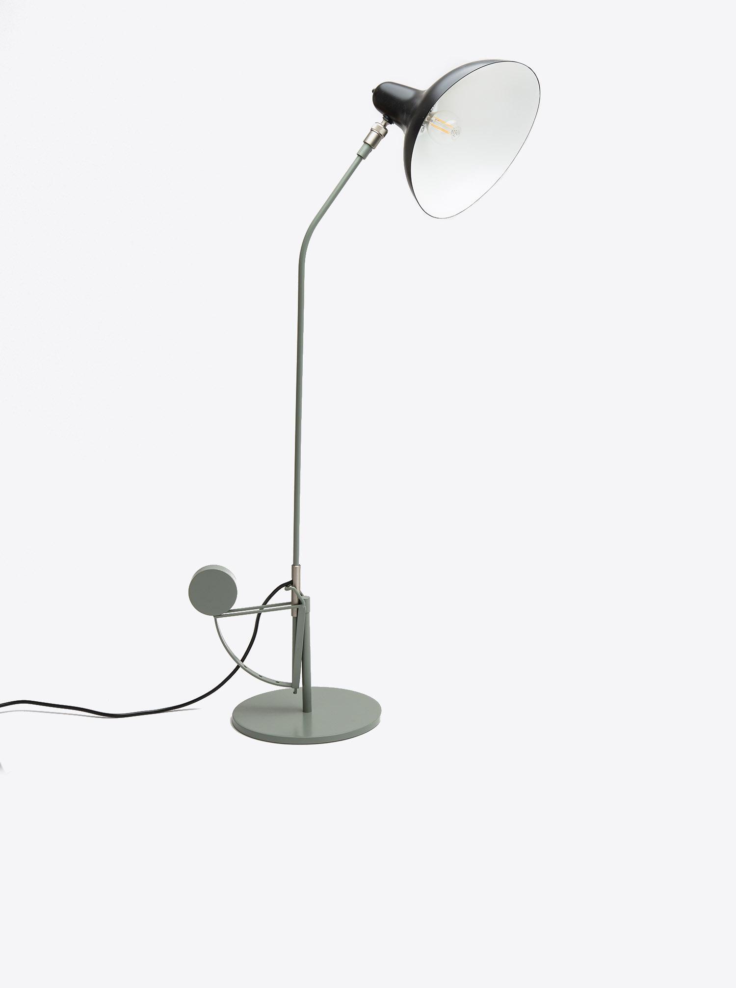 """Tischleuchte """"Mantis"""" schwarz grün Design Bernard Schottlander"""