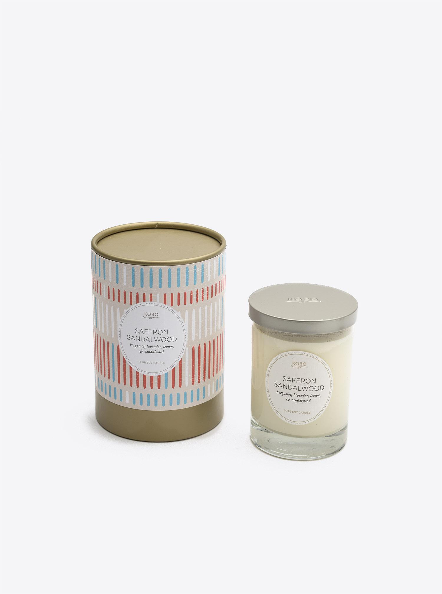 Candle Saffron Sandalwood