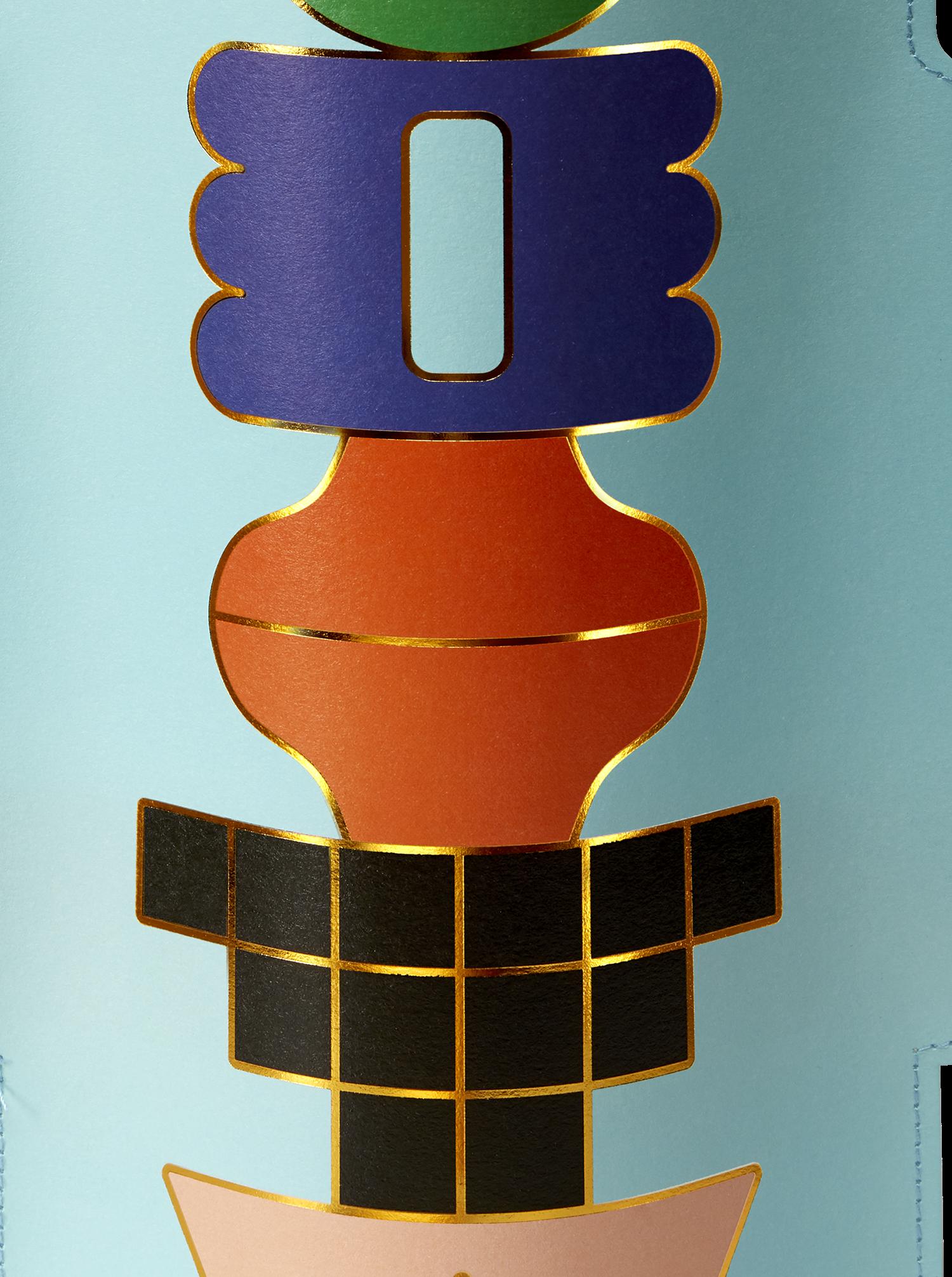 """Paper Vase """"Templo"""""""