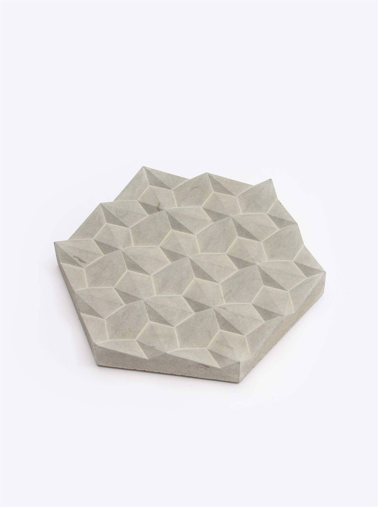 """Trivet """"Origami"""" Beton"""