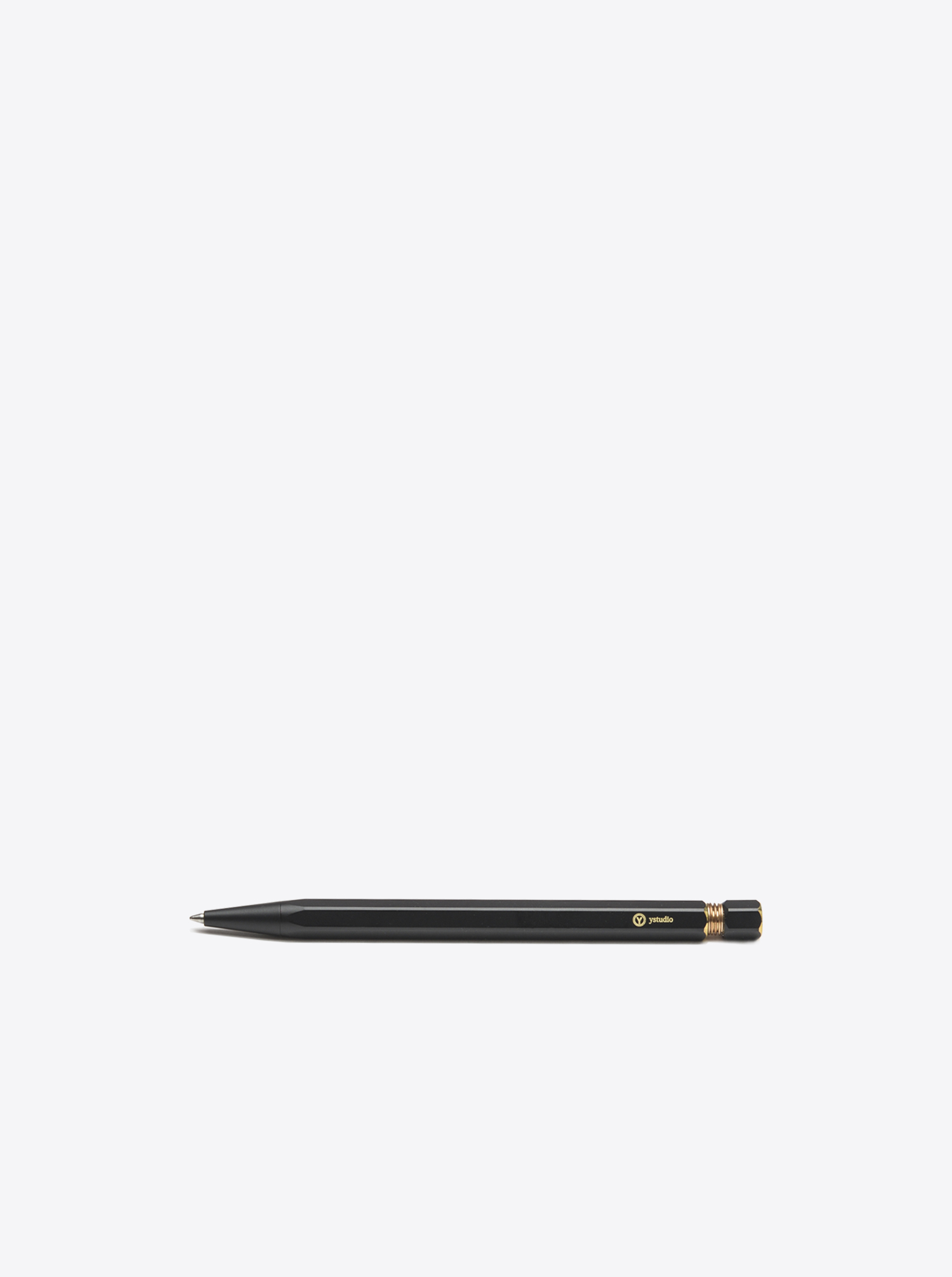 Ballpoint Pen Brass black
