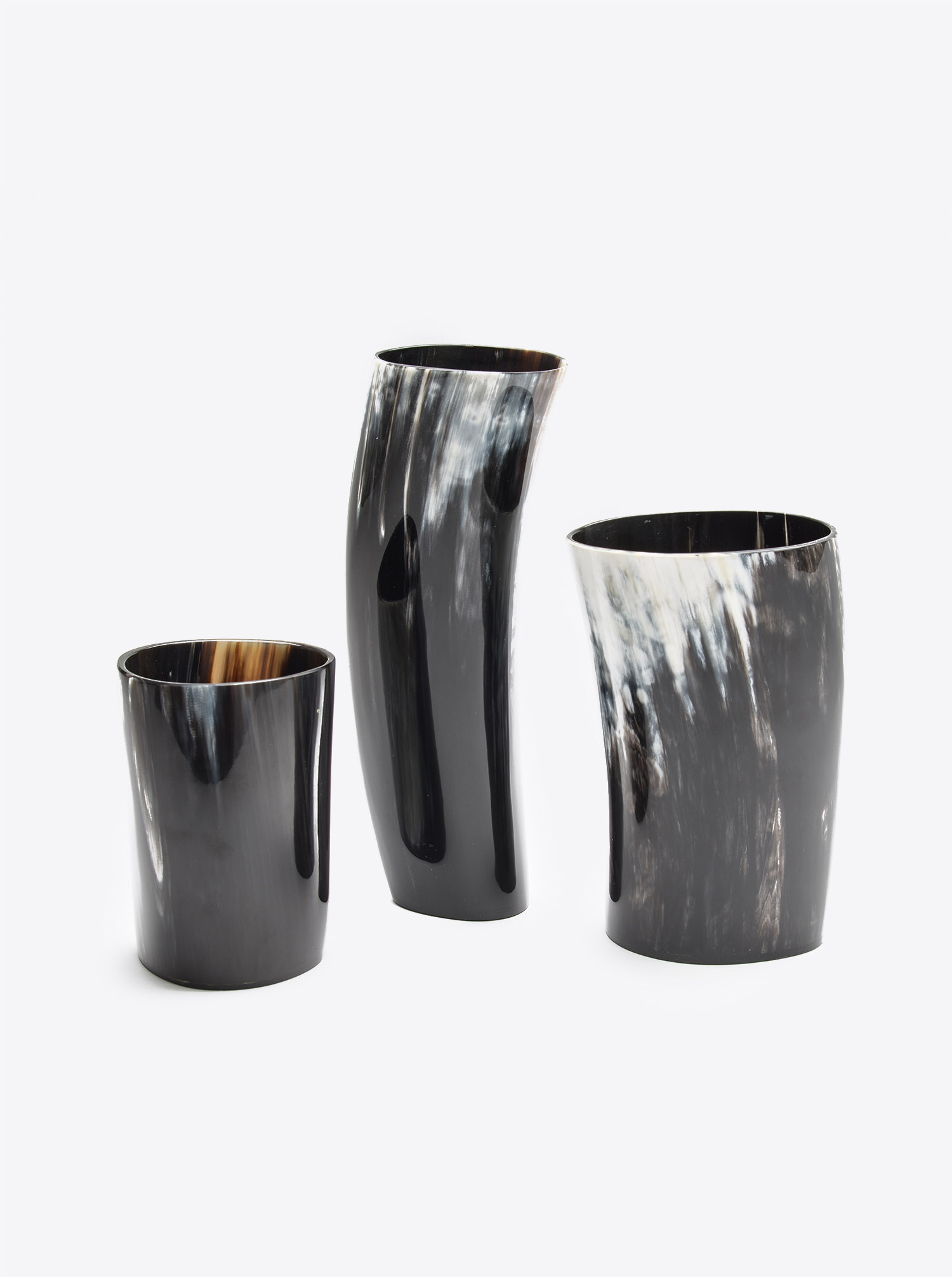 Cup made of Horn dark XL