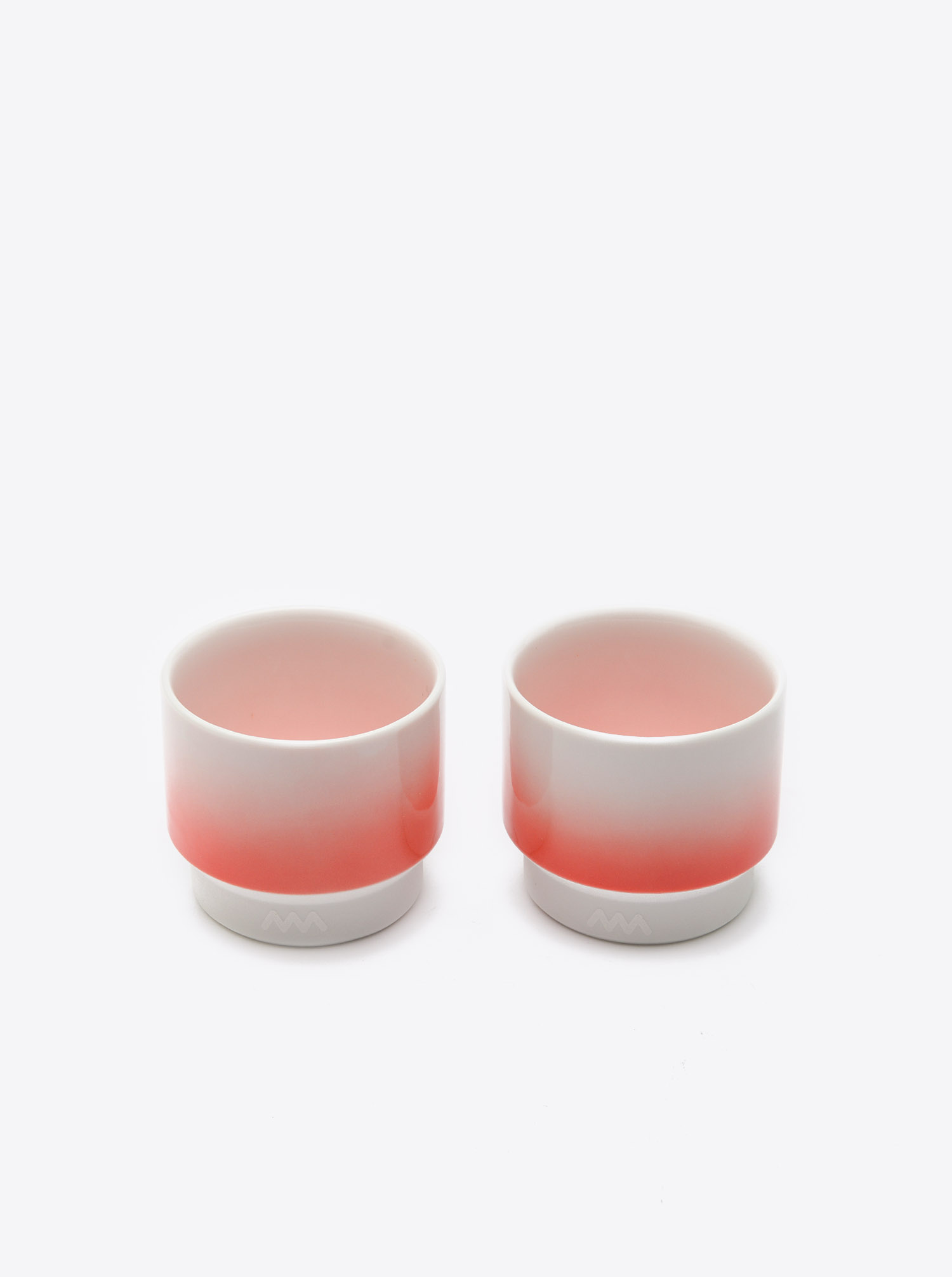 Teacup Hasami M red