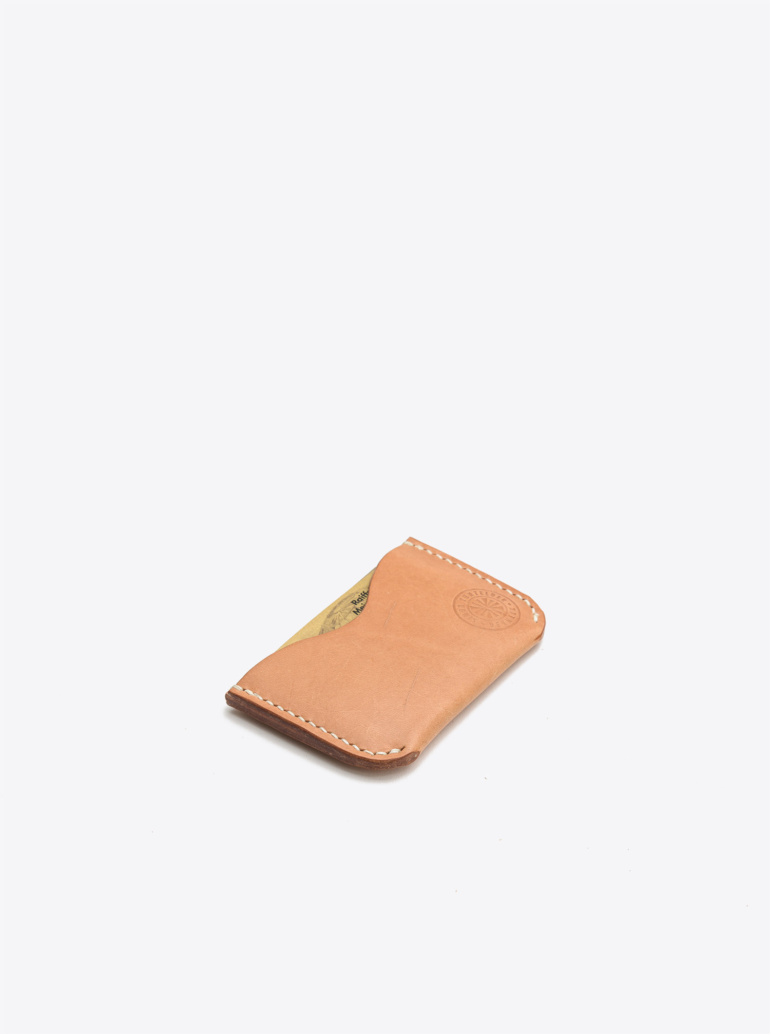 Double Card Holder Leather