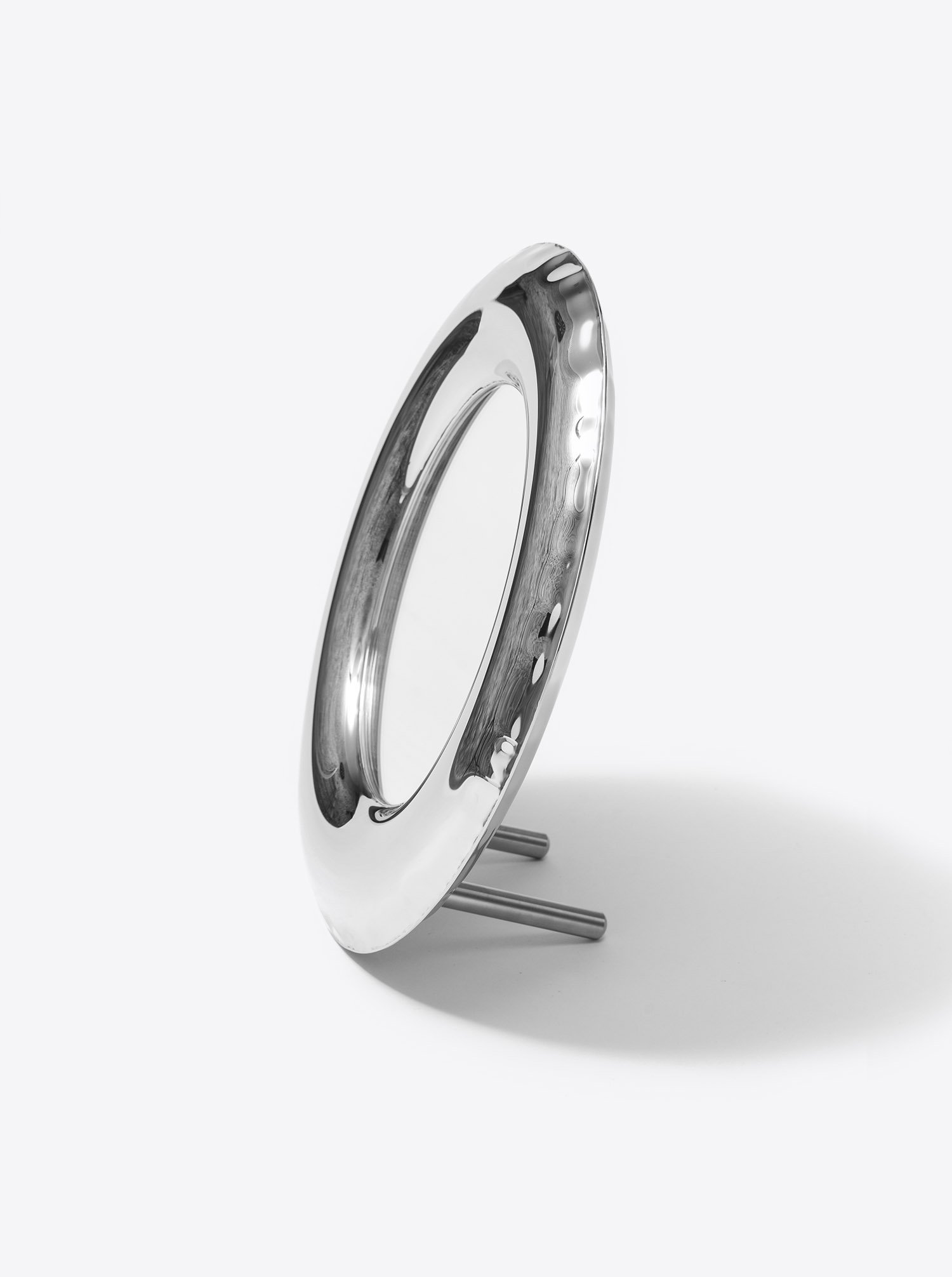 Mirror RONDEL Inox D36cm