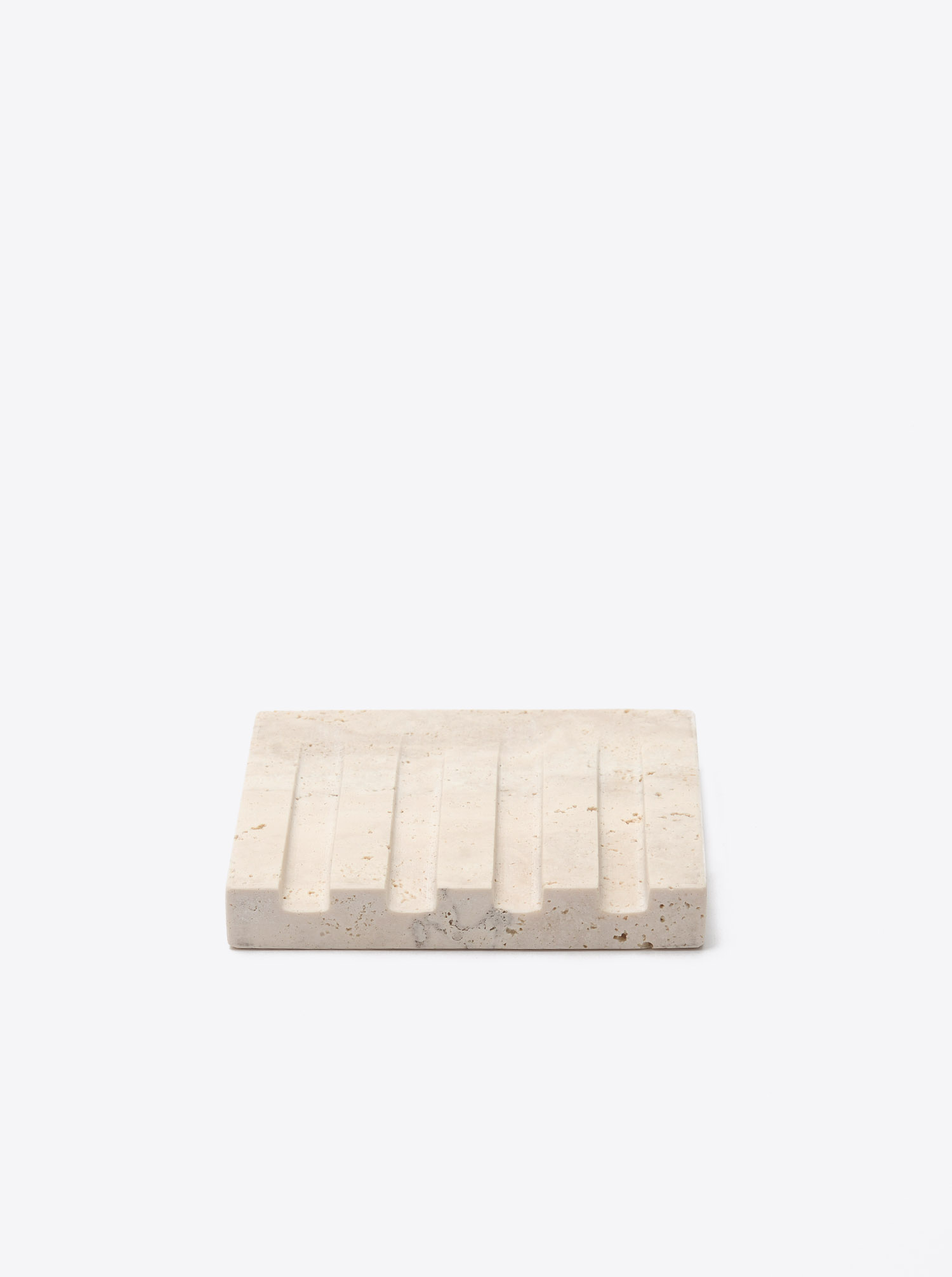Soap Dish Travertine