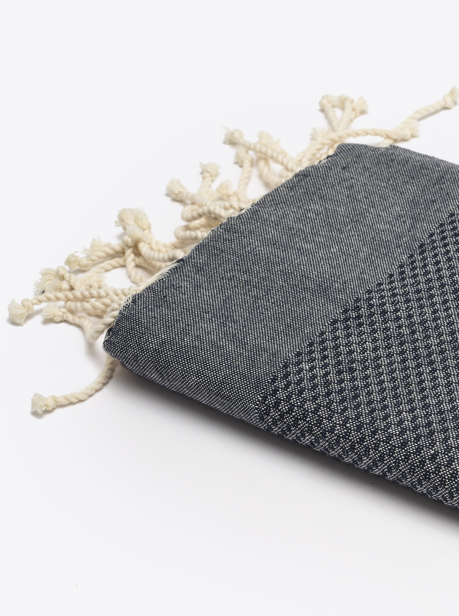 Fouta Hammam Towel Honeycomb Navy
